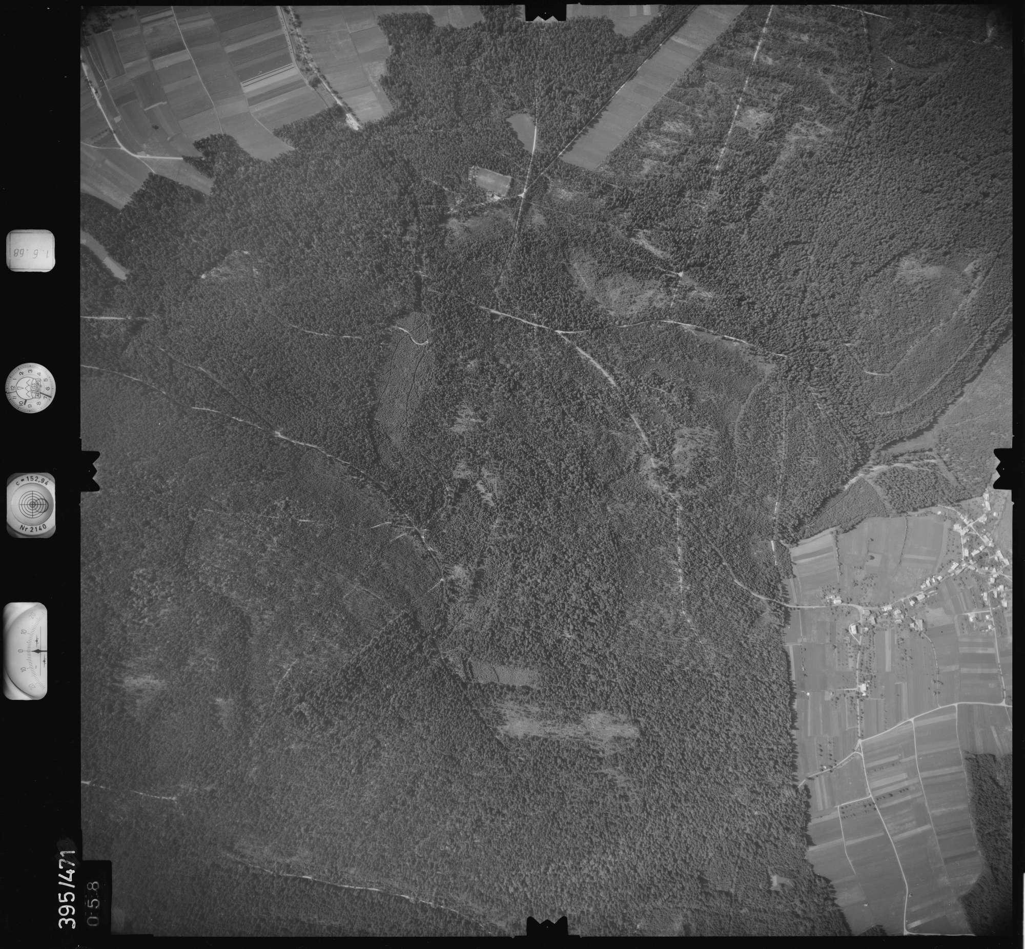 Luftbild: Film 16 Bildnr. 58, Bild 1