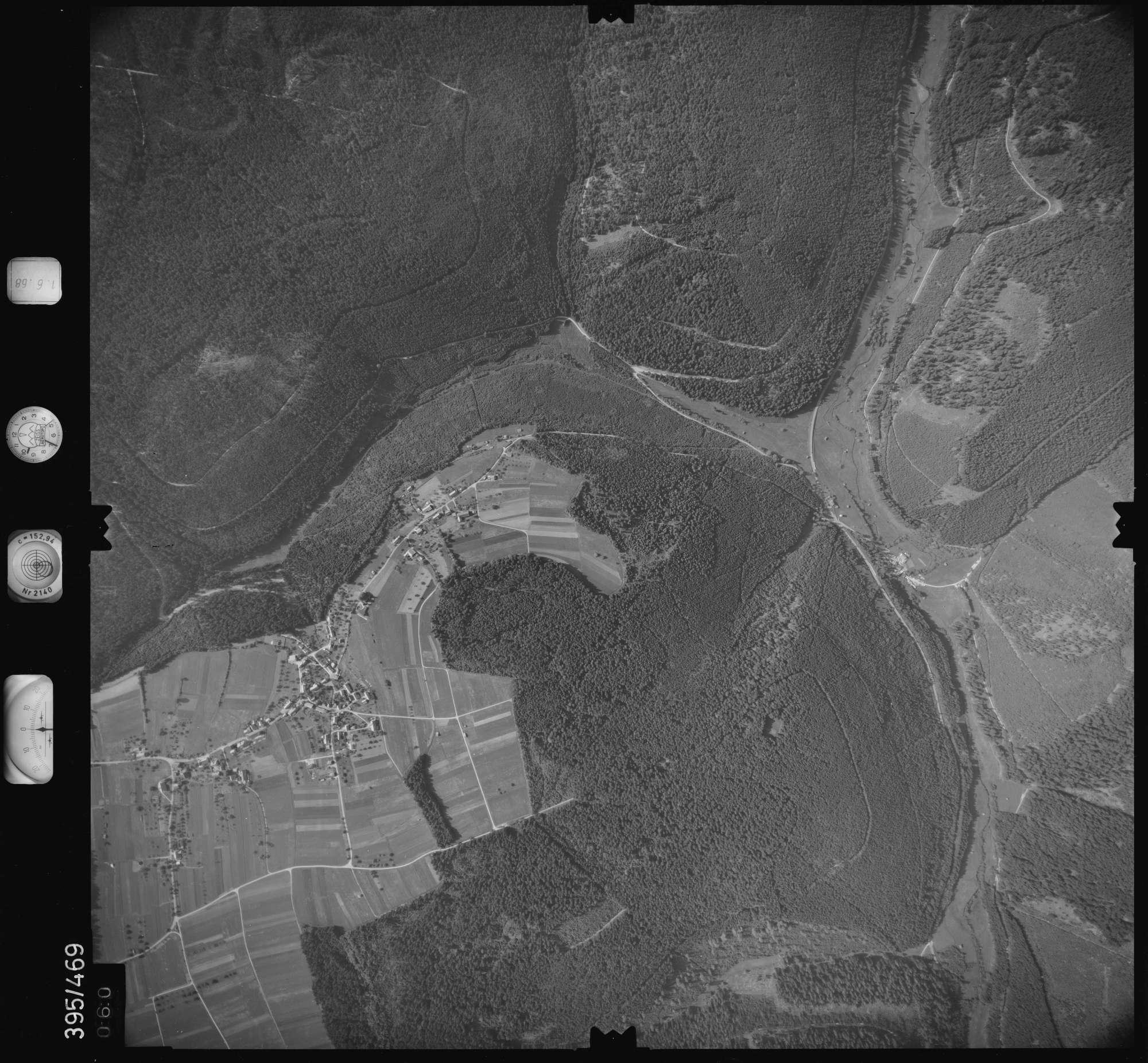Luftbild: Film 16 Bildnr. 60, Bild 1