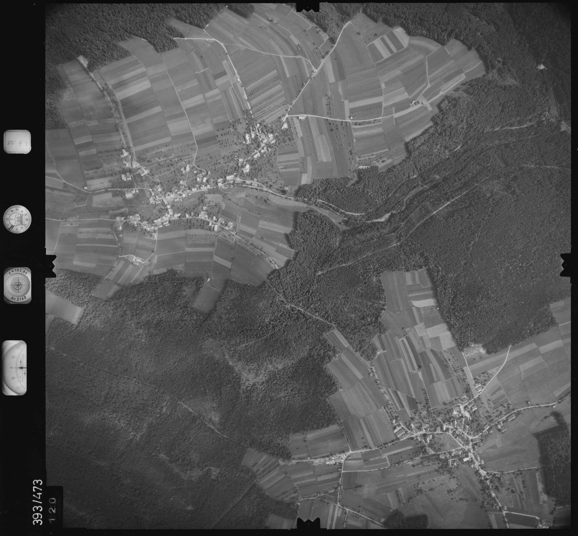 Luftbild: Film 16 Bildnr. 120, Bild 1