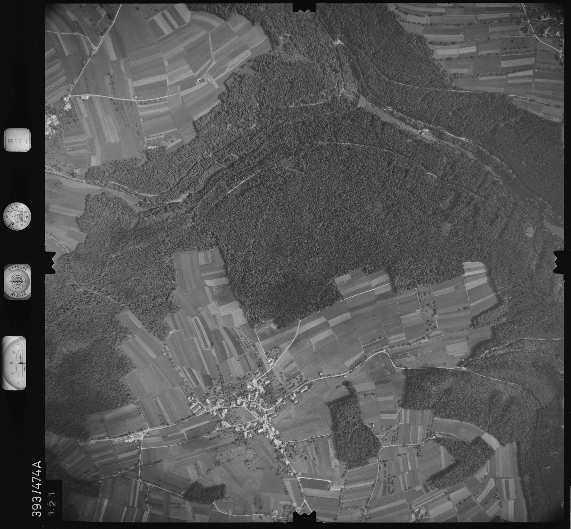 Luftbild: Film 16 Bildnr. 121, Bild 1