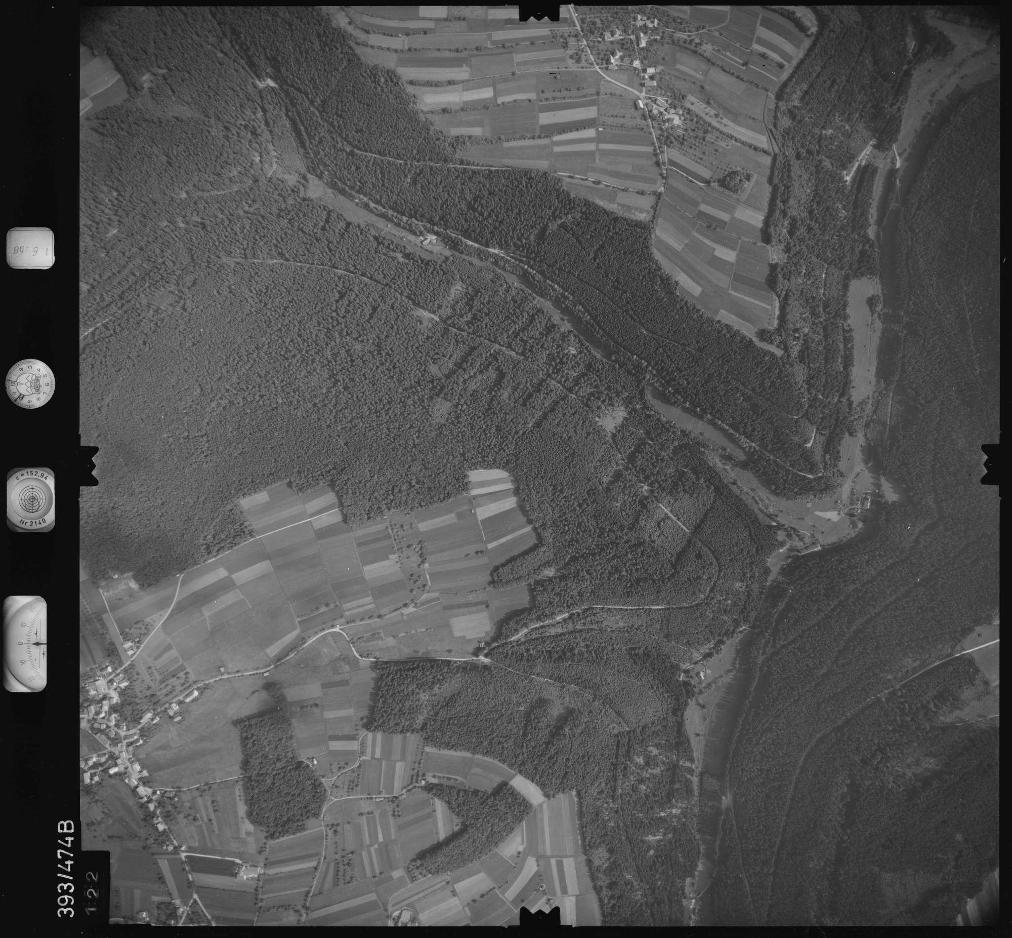 Luftbild: Film 16 Bildnr. 122, Bild 1