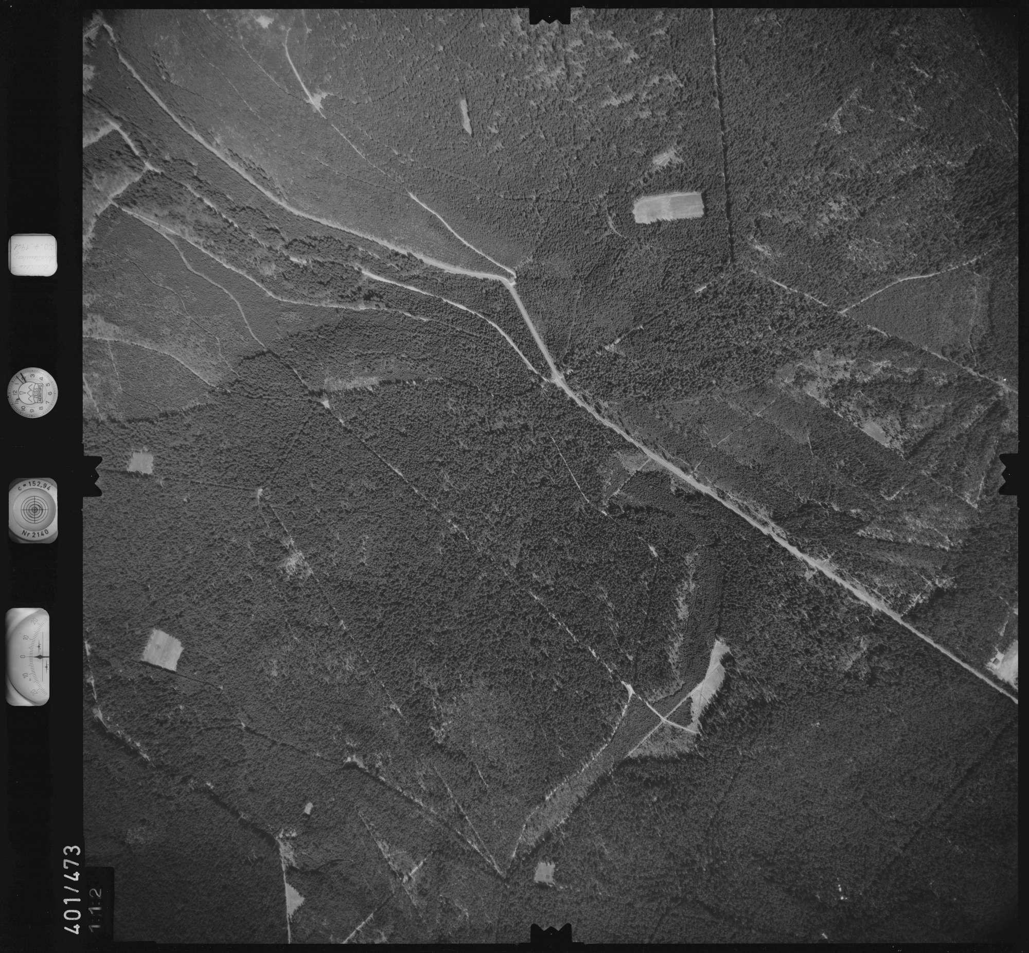 Luftbild: Film 11 Bildnr. 112, Bild 1