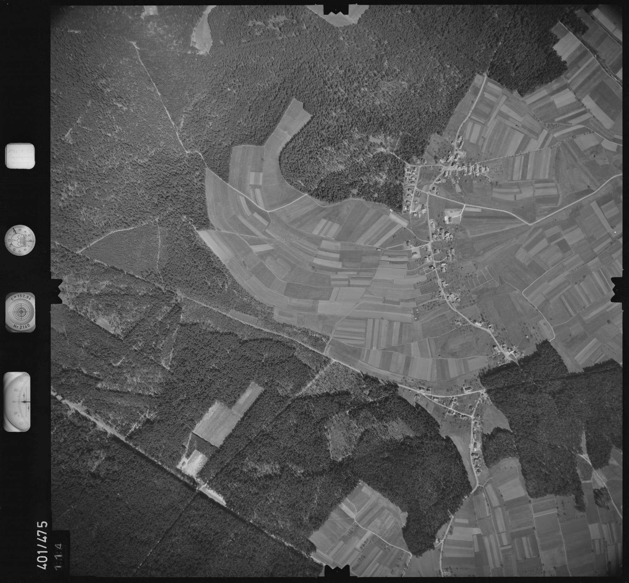 Luftbild: Film 11 Bildnr. 114, Bild 1