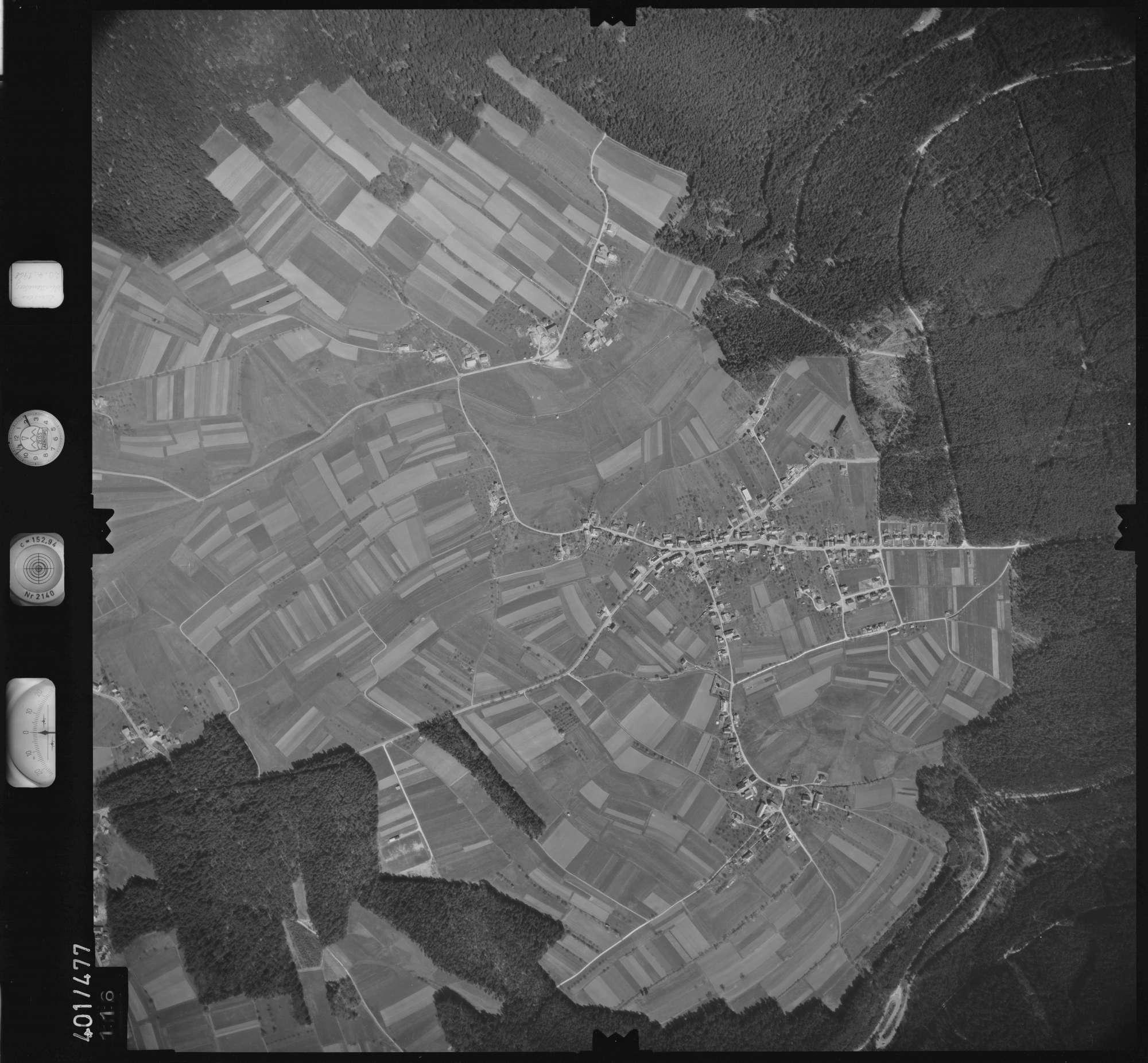 Luftbild: Film 11 Bildnr. 116, Bild 1