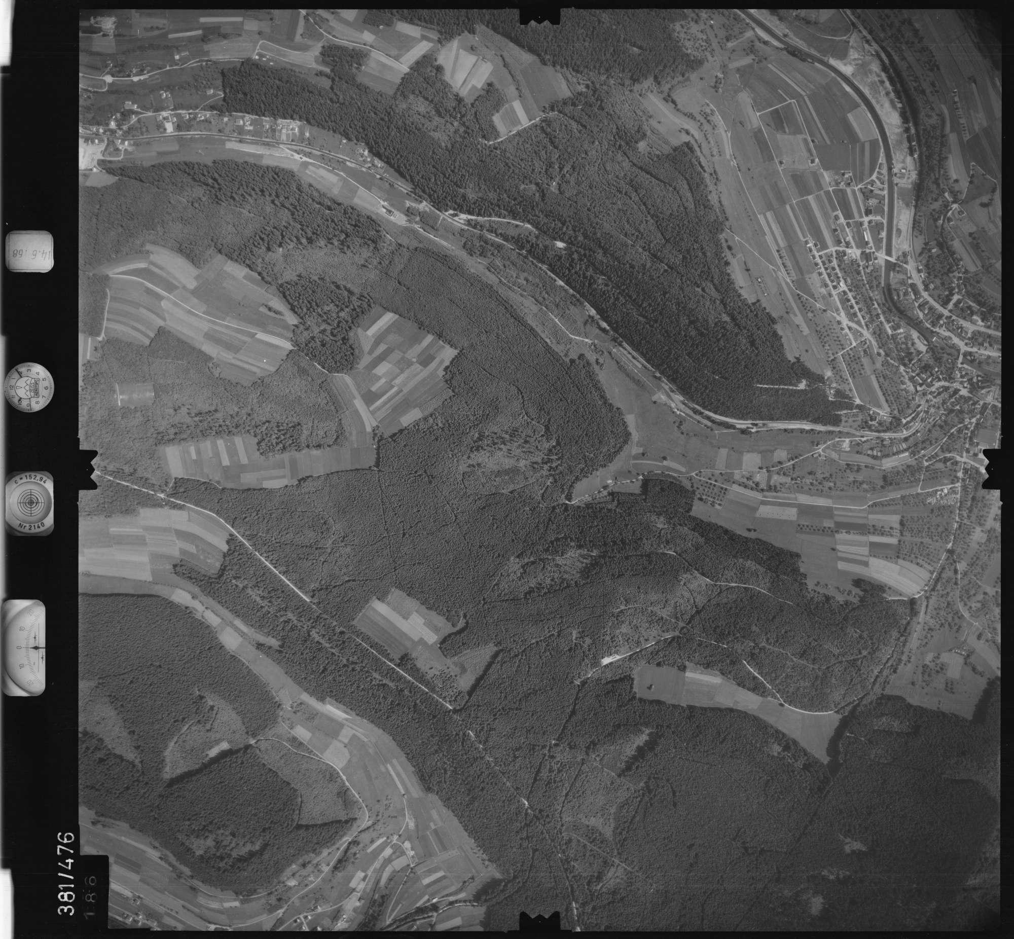 Luftbild: Film 21 Bildnr. 186, Bild 1