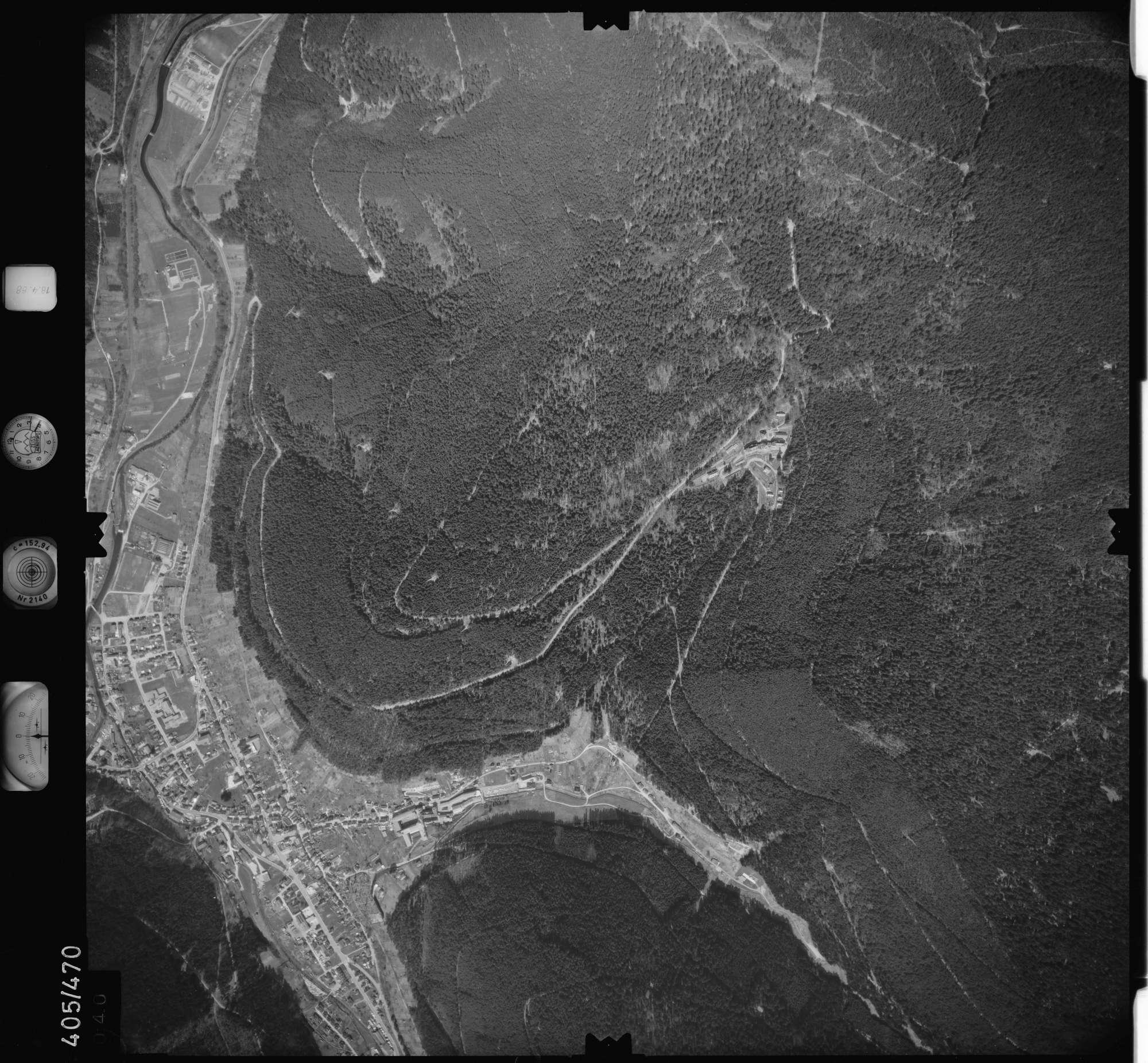 Luftbild: Film 9 Bildnr. 40, Bild 1