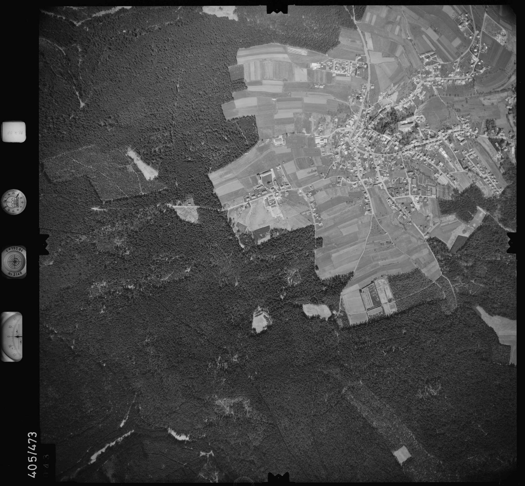 Luftbild: Film 9 Bildnr. 43, Bild 1