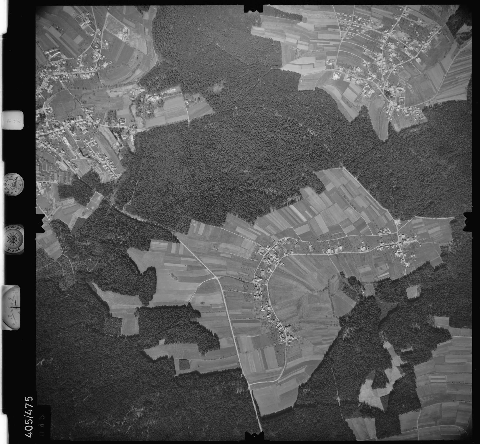 Luftbild: Film 9 Bildnr. 45, Bild 1