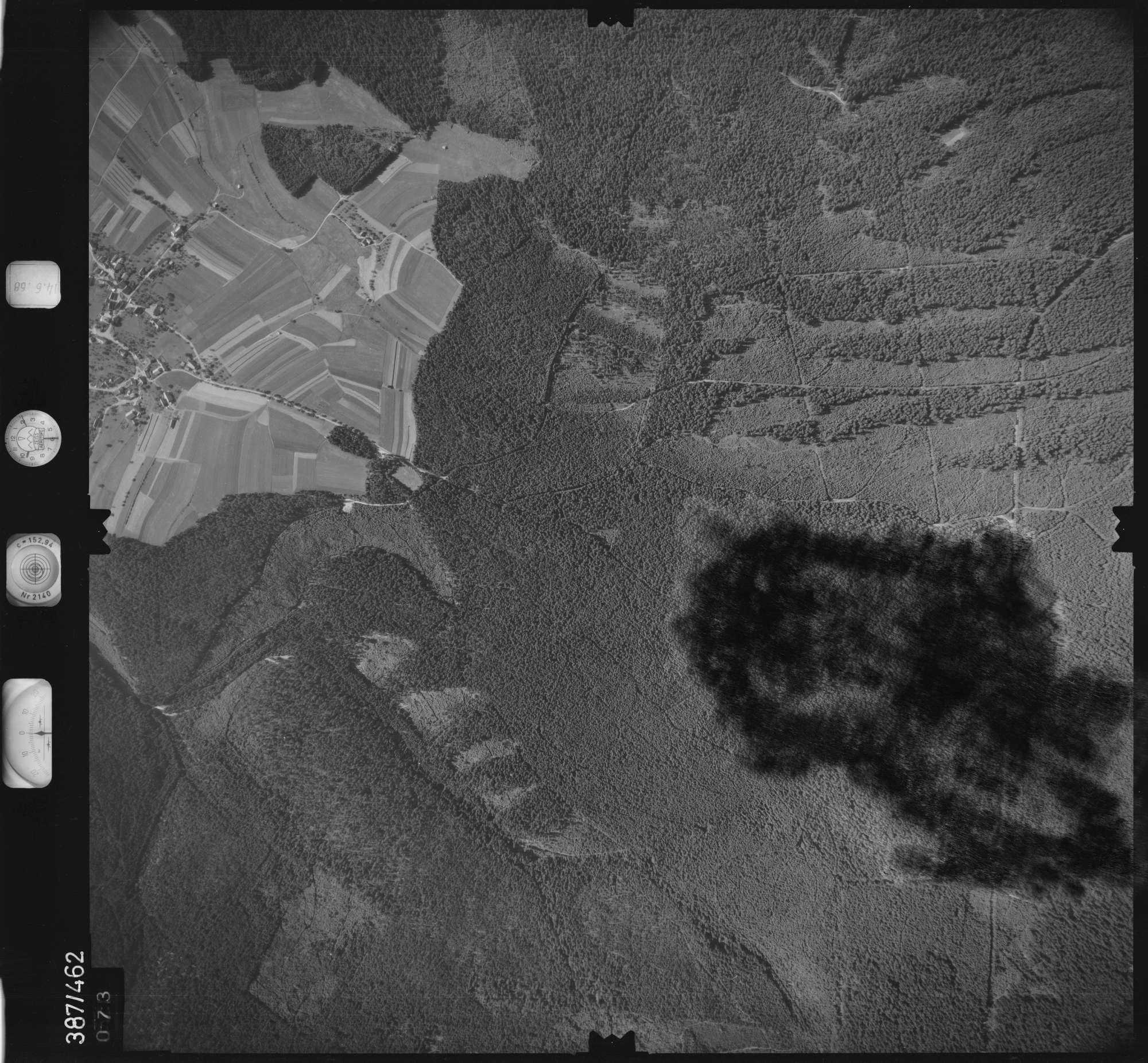 Luftbild: Film 21 Bildnr. 73, Bild 1