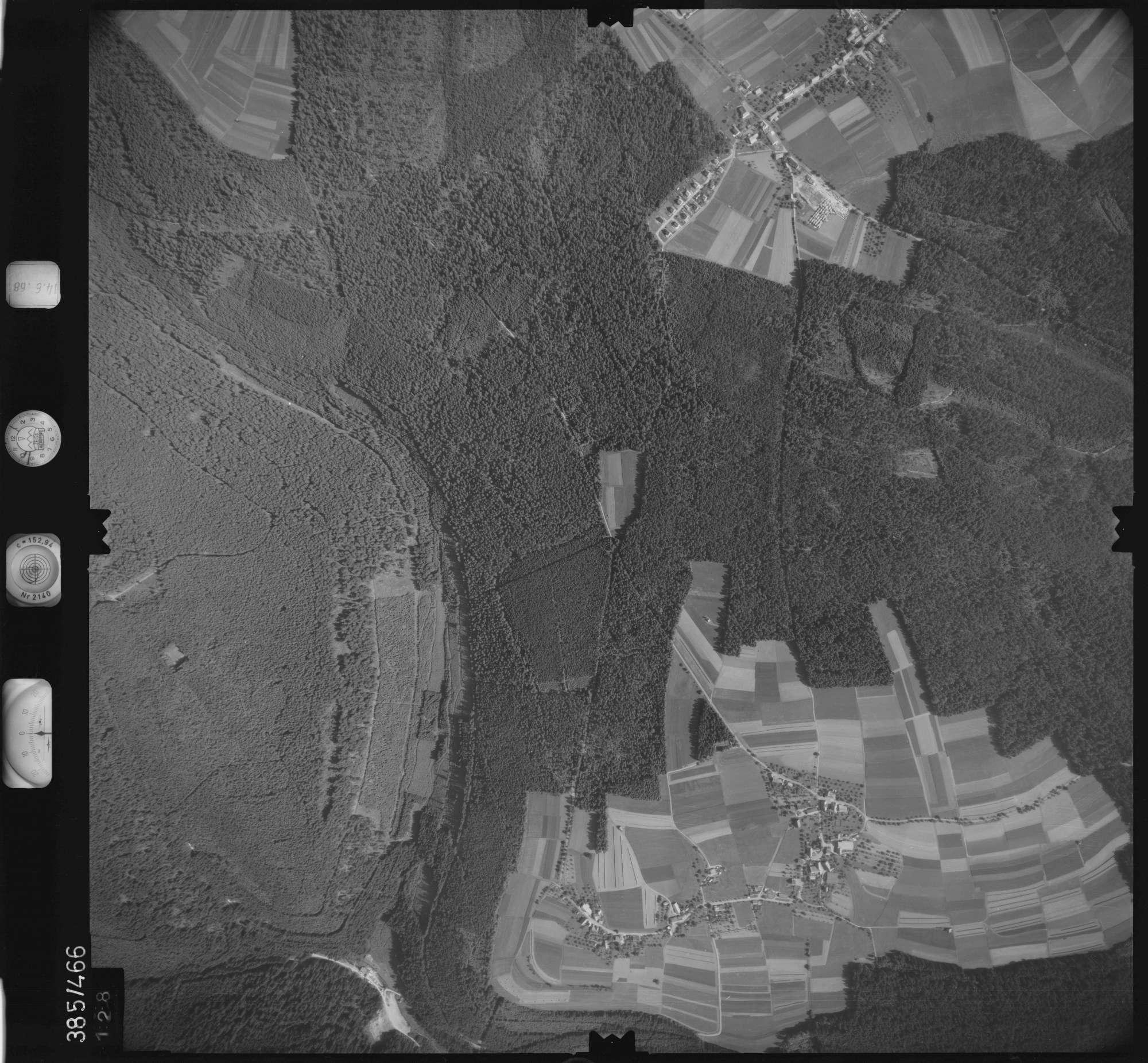 Luftbild: Film 21 Bildnr. 128, Bild 1