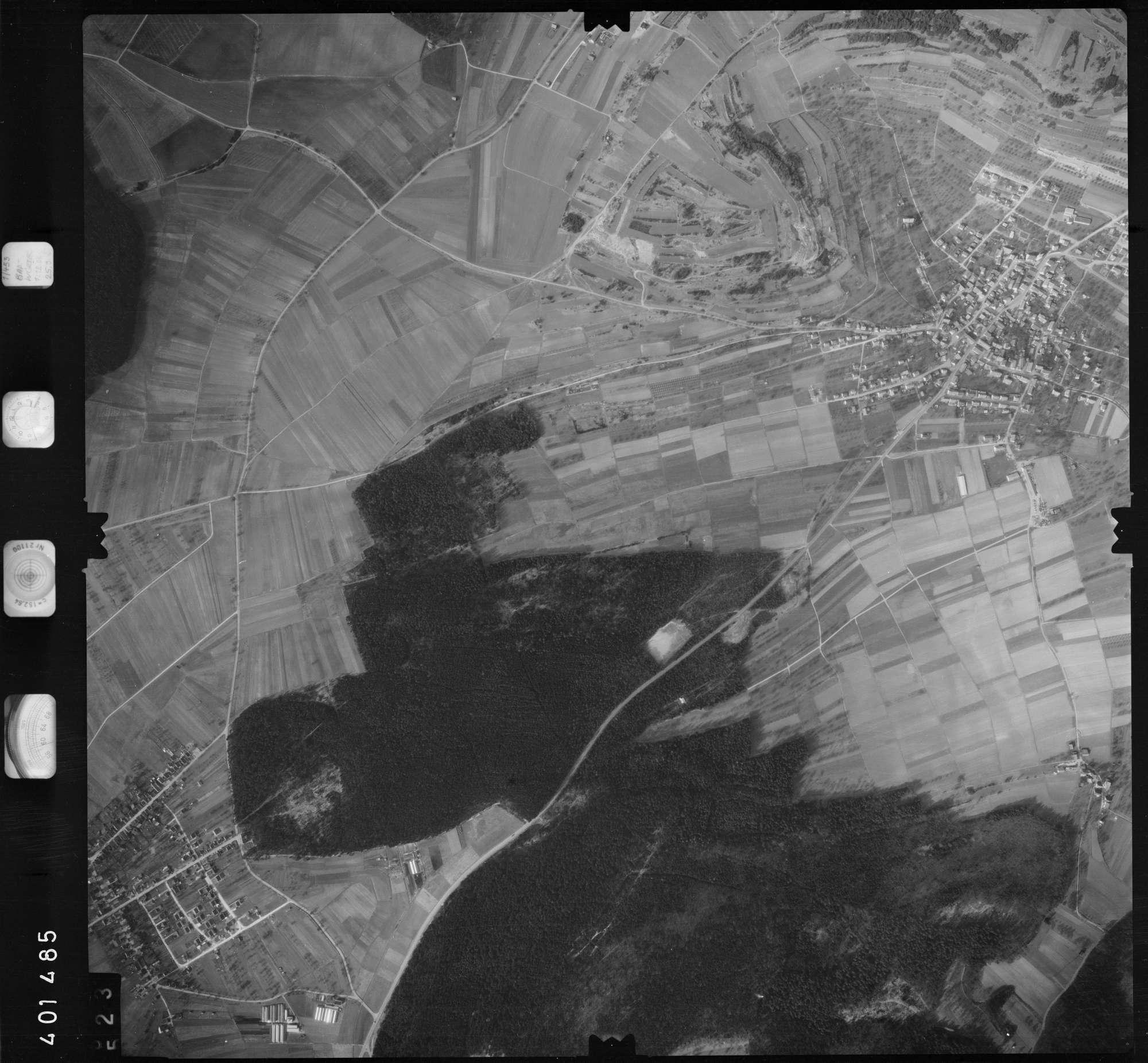 Luftbild: Film 23 Bildnr. 523, Bild 1