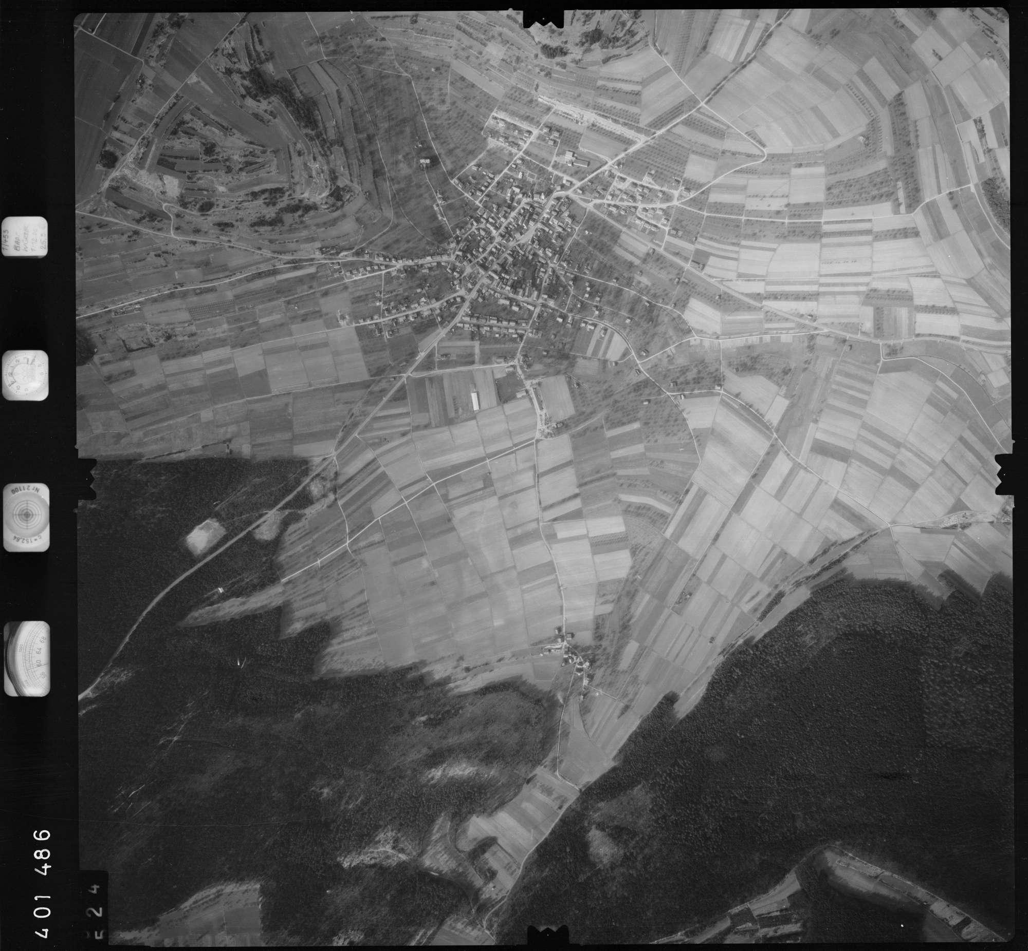 Luftbild: Film 23 Bildnr. 524, Bild 1