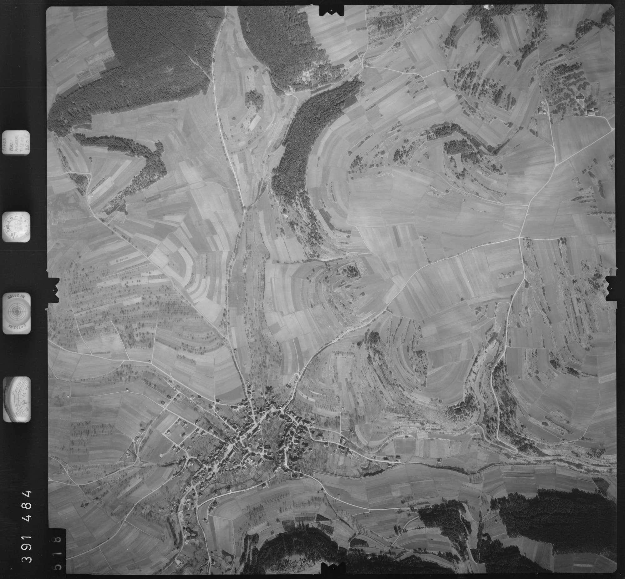 Luftbild: Film 13 Bildnr. 518, Bild 1