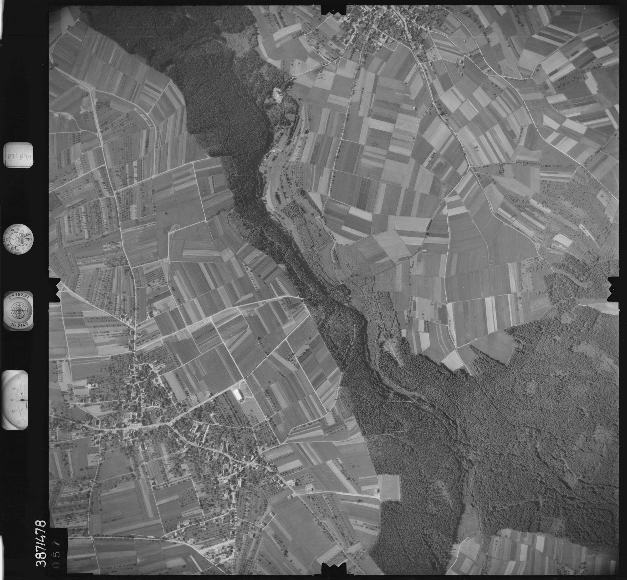 Luftbild: Film 21 Bildnr. 57, Bild 1