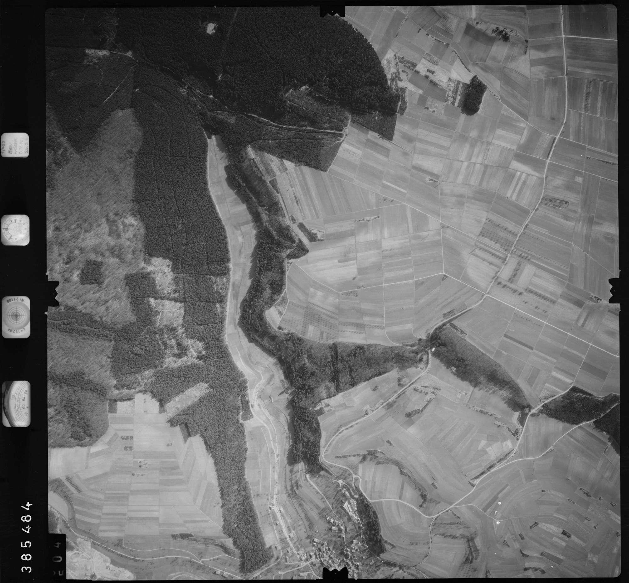 Luftbild: Film 23 Bildnr. 504, Bild 1