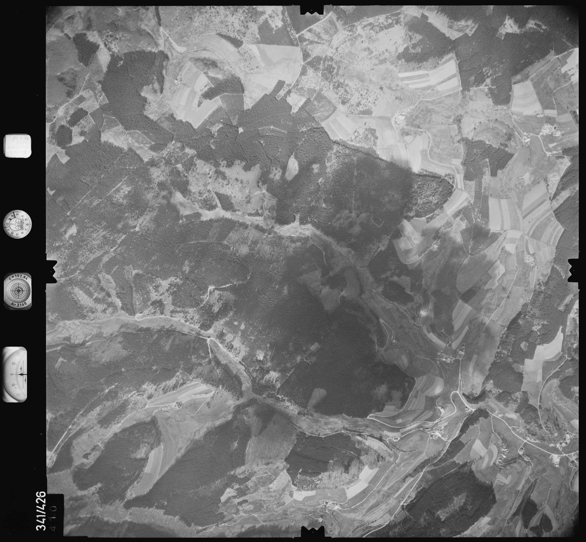 Luftbild: Film 89 Bildnr. 410, Bild 1
