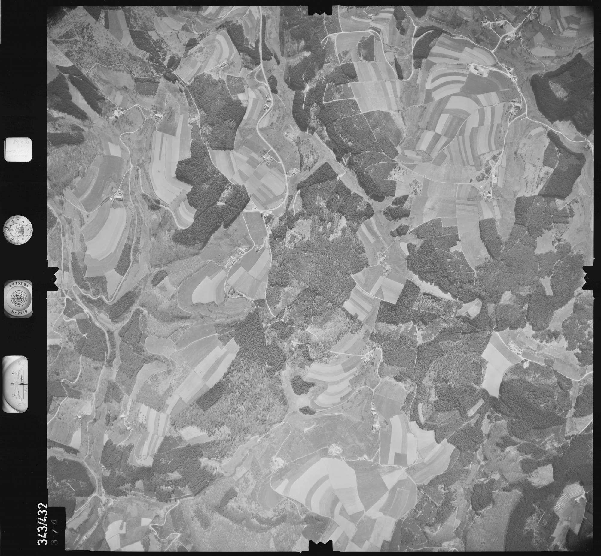Luftbild: Film 89 Bildnr. 374, Bild 1