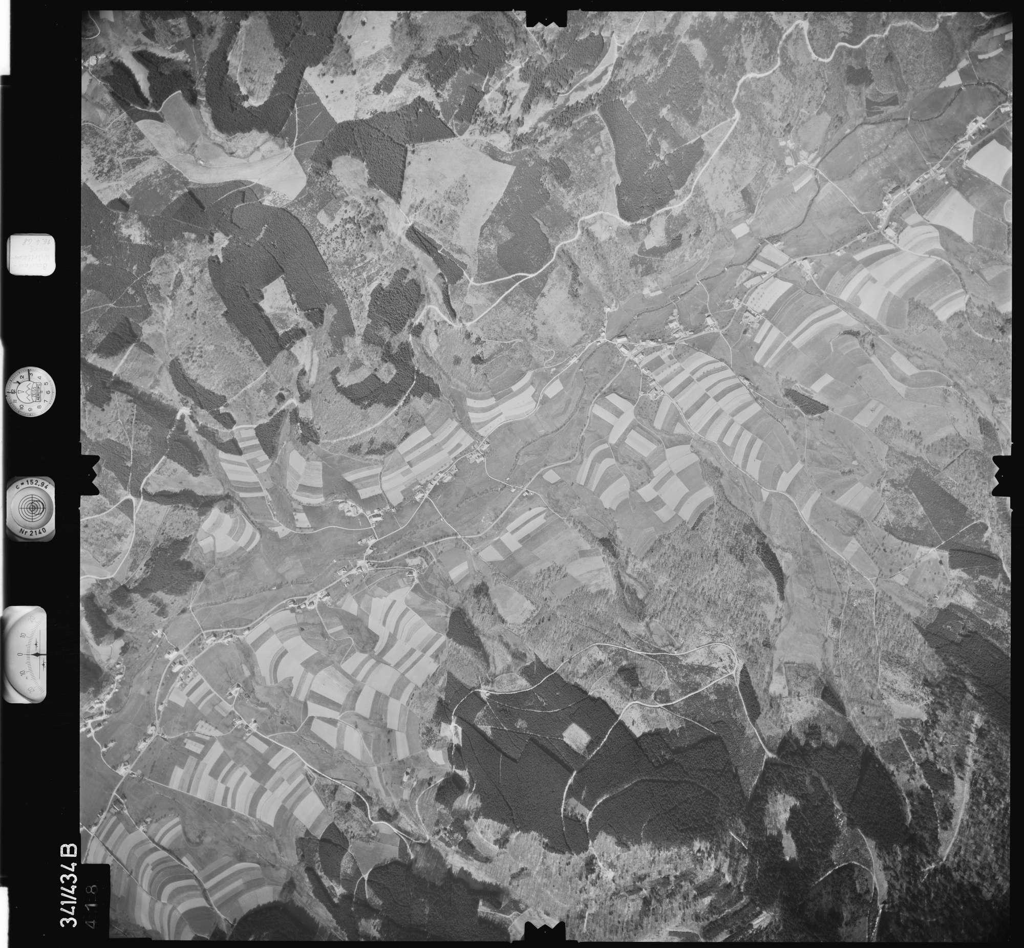 Luftbild: Film 89 Bildnr. 418, Bild 1