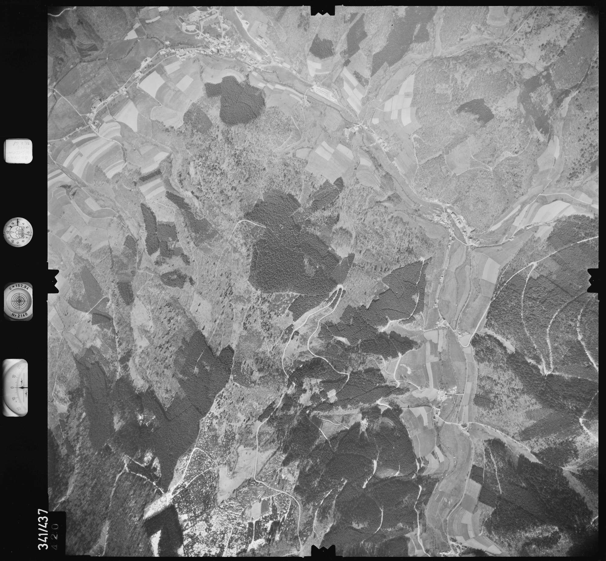 Luftbild: Film 89 Bildnr. 420, Bild 1