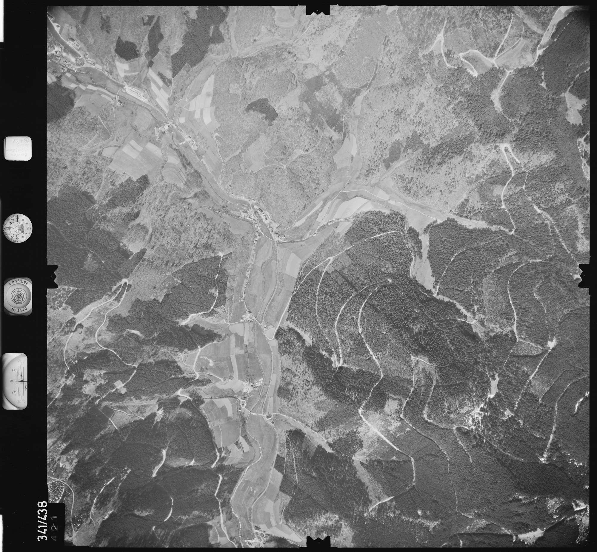 Luftbild: Film 89 Bildnr. 421, Bild 1