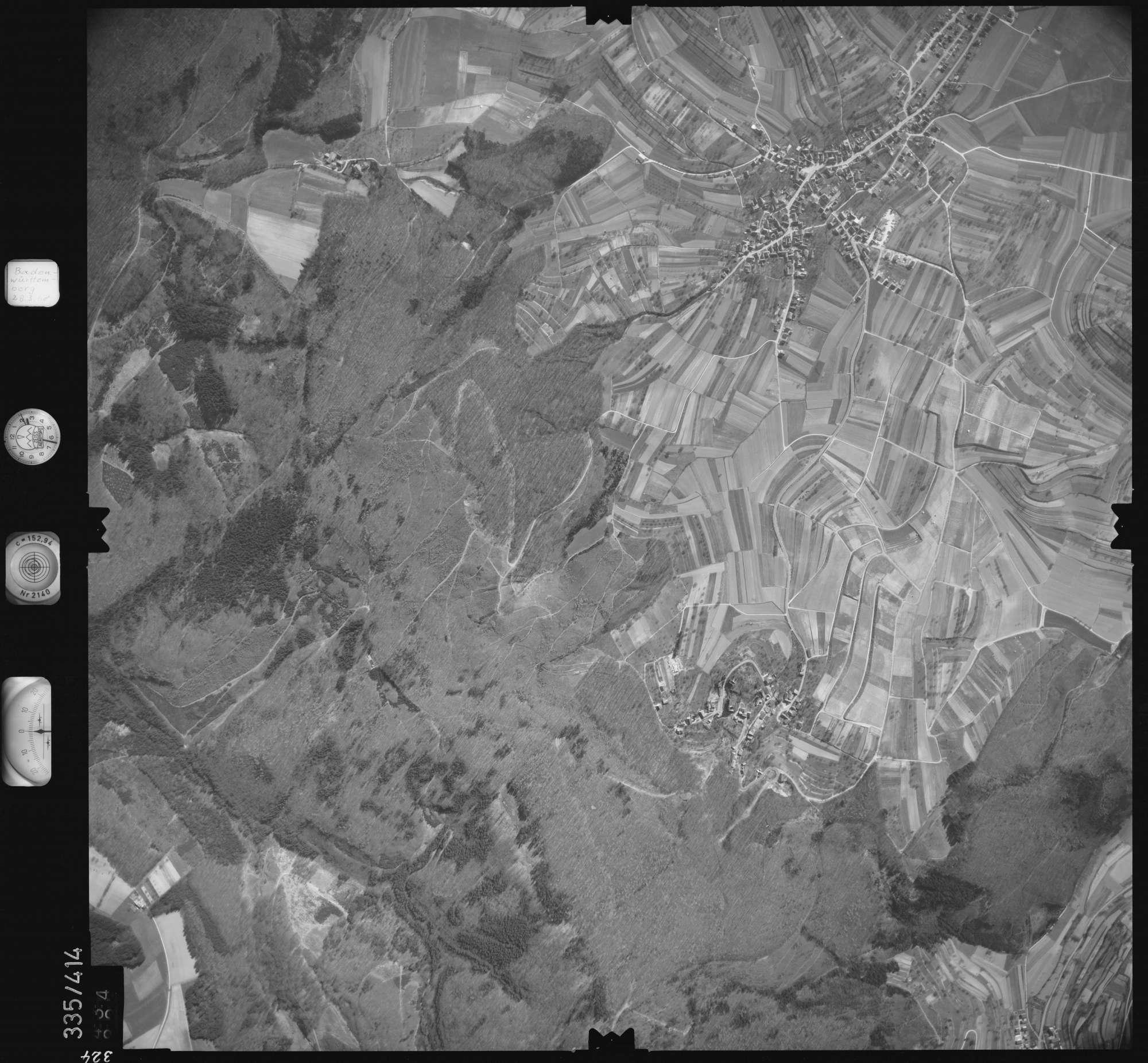 Luftbild: Film 36 Bildnr. 324, Bild 1
