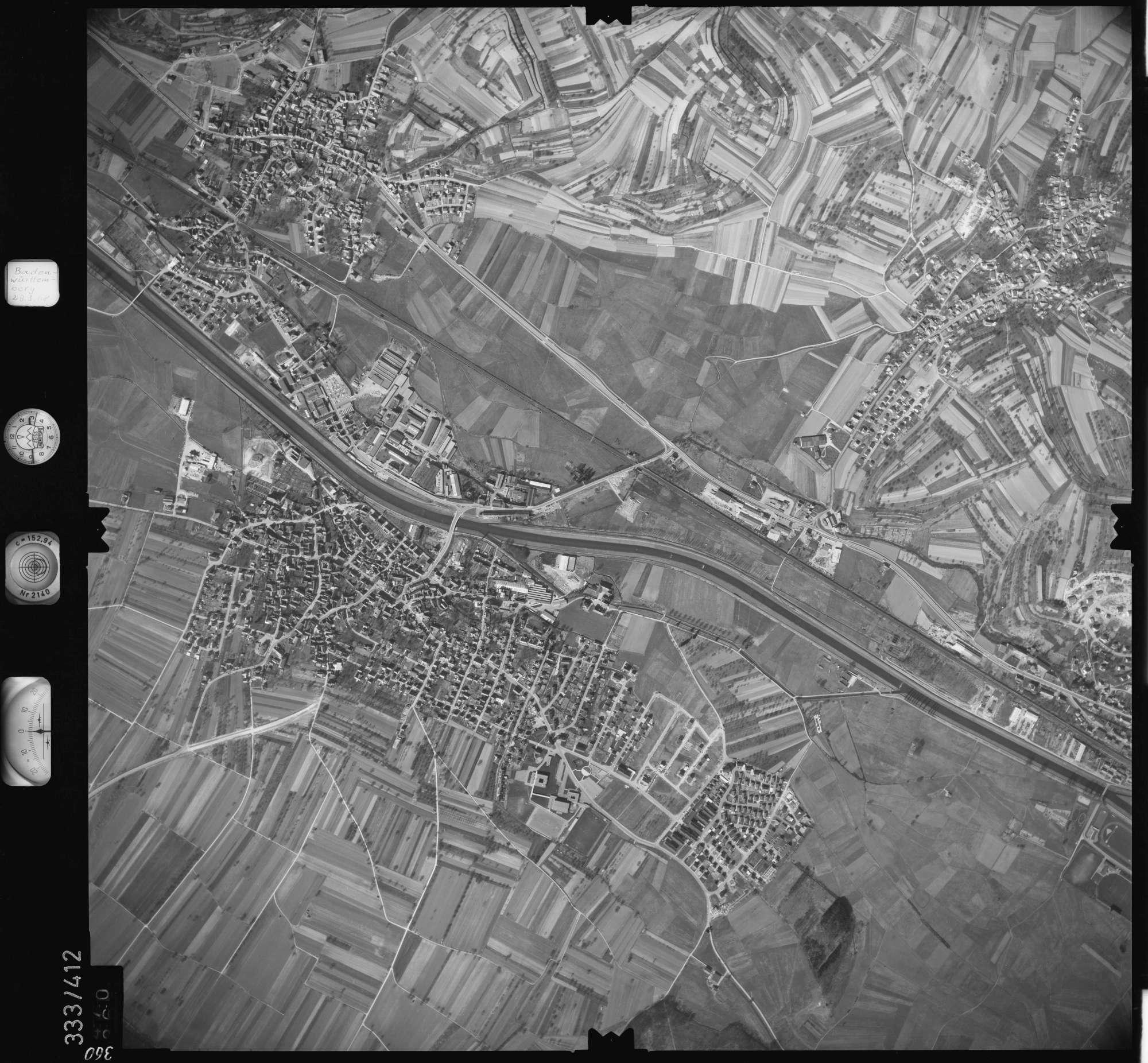 Luftbild: Film 36 Bildnr. 360, Bild 1