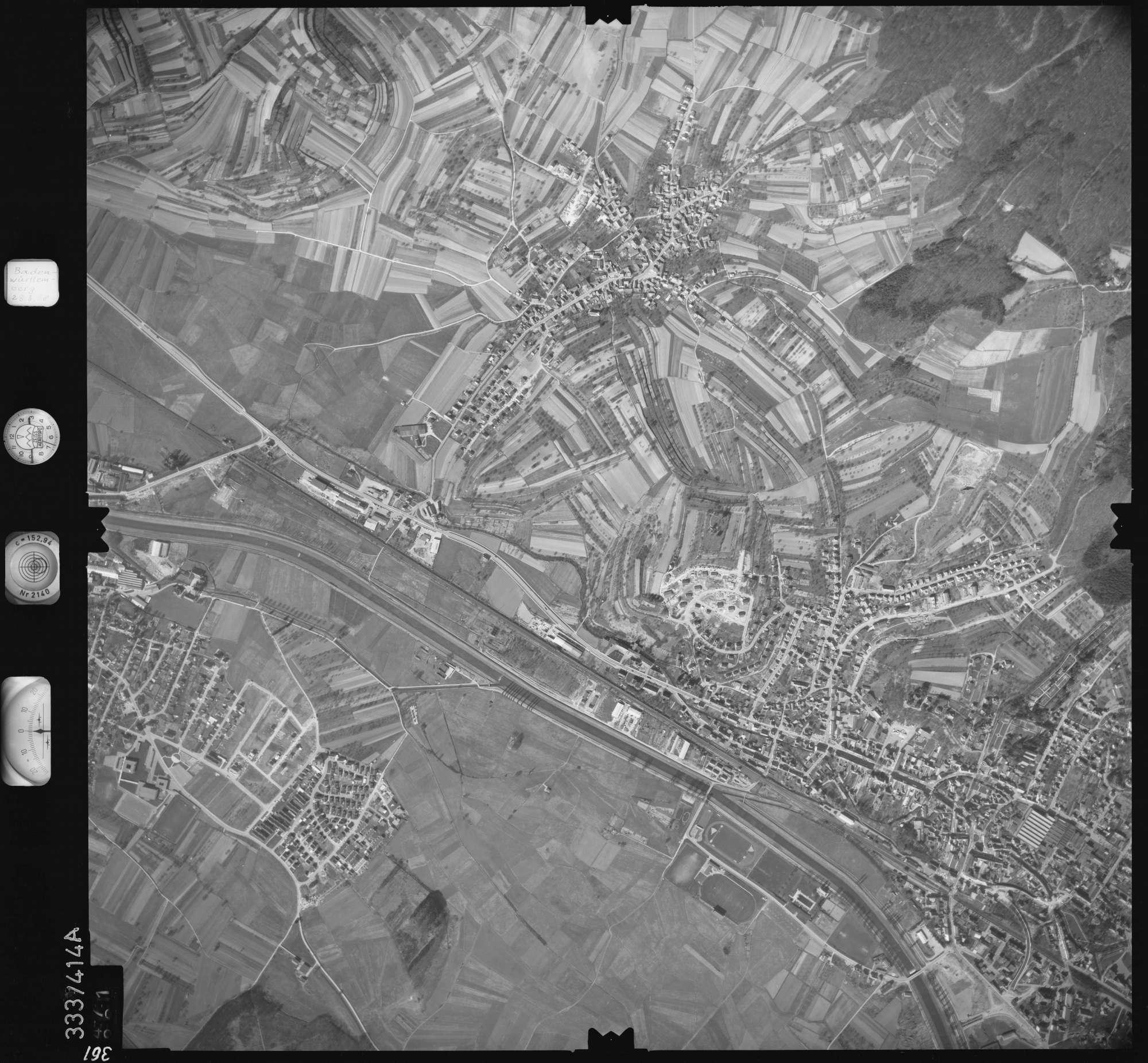 Luftbild: Film 36 Bildnr. 361, Bild 1