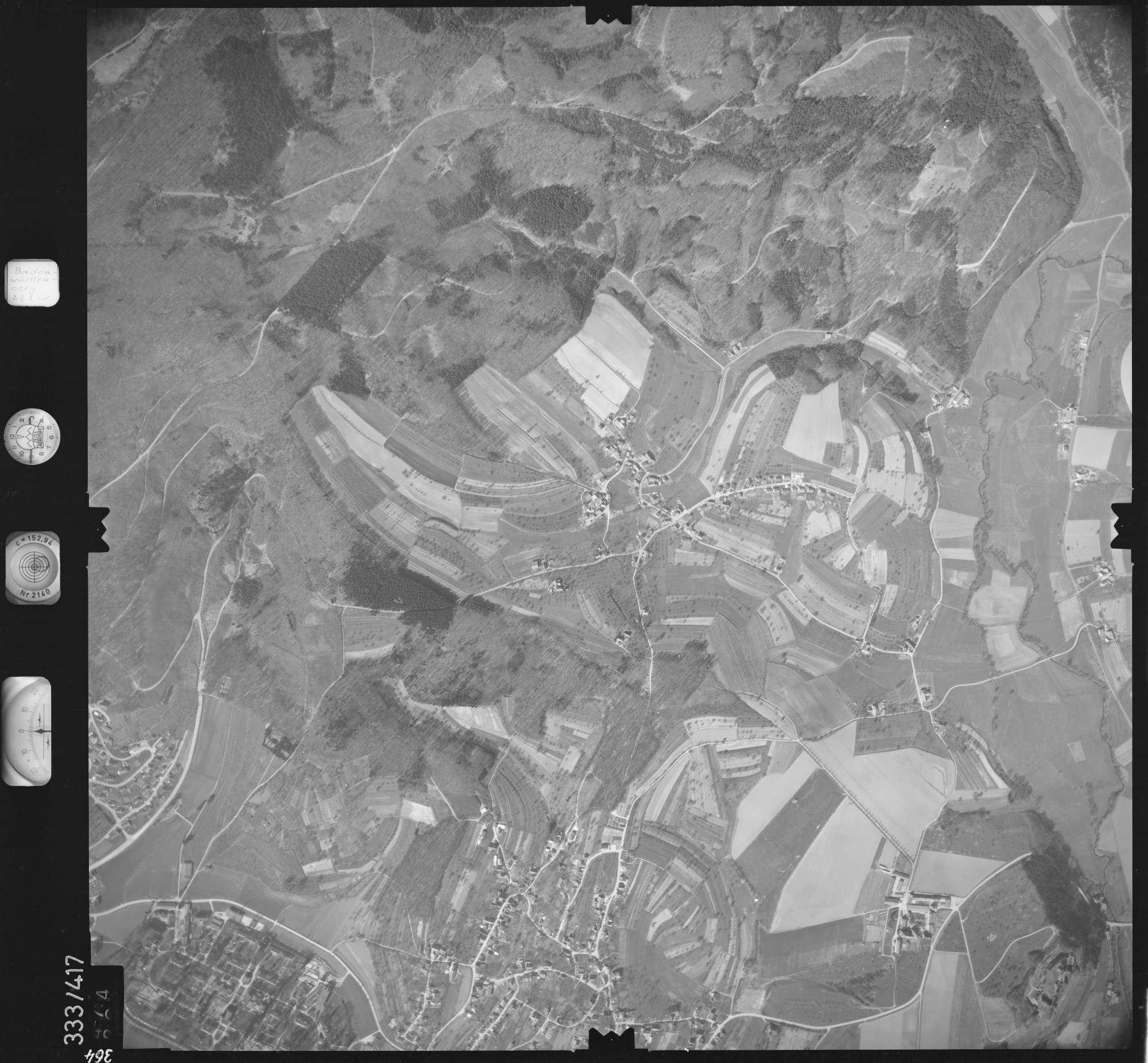 Luftbild: Film 36 Bildnr. 364, Bild 1