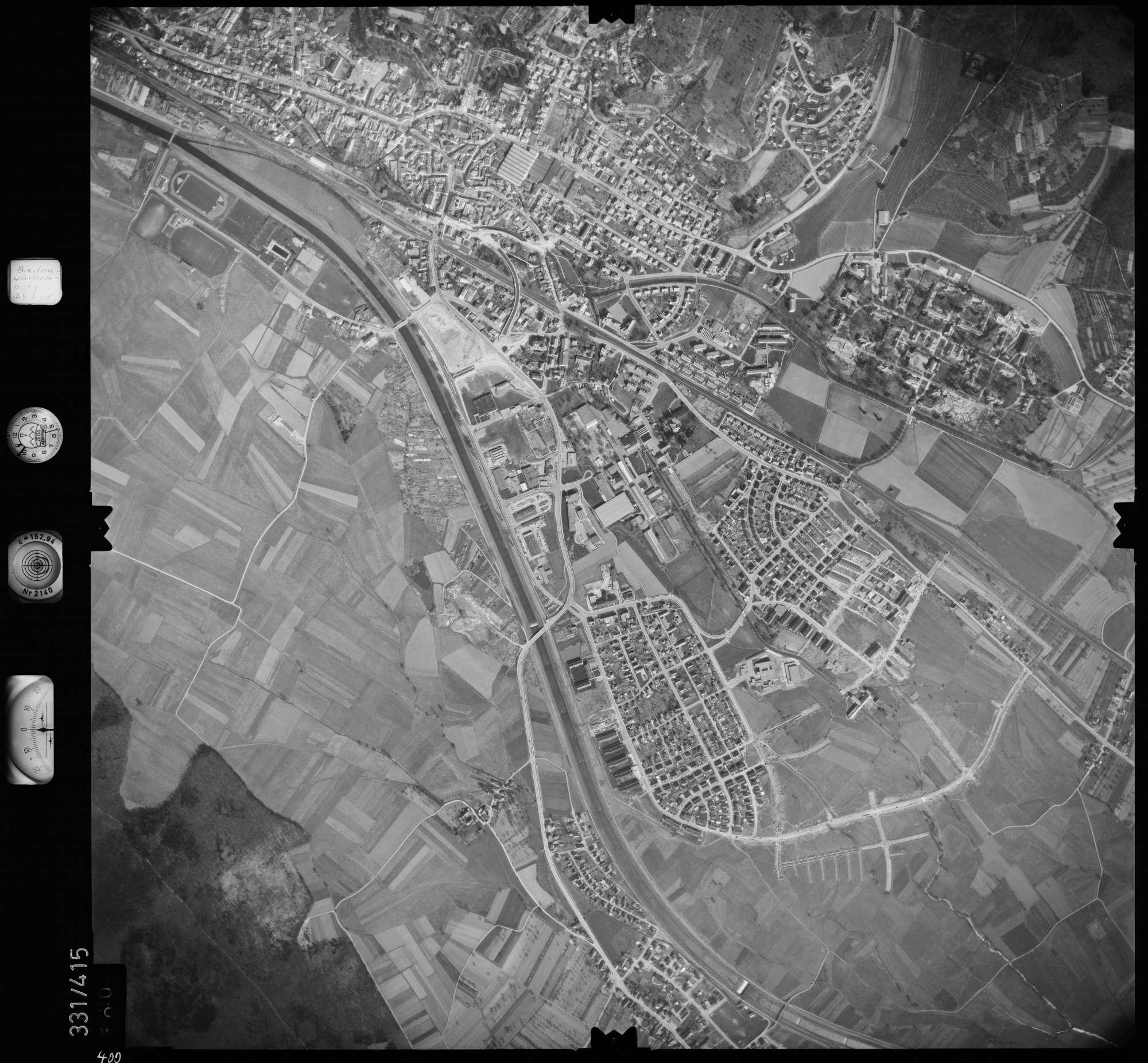 Luftbild: Film 47 Bildnr. 400, Bild 1