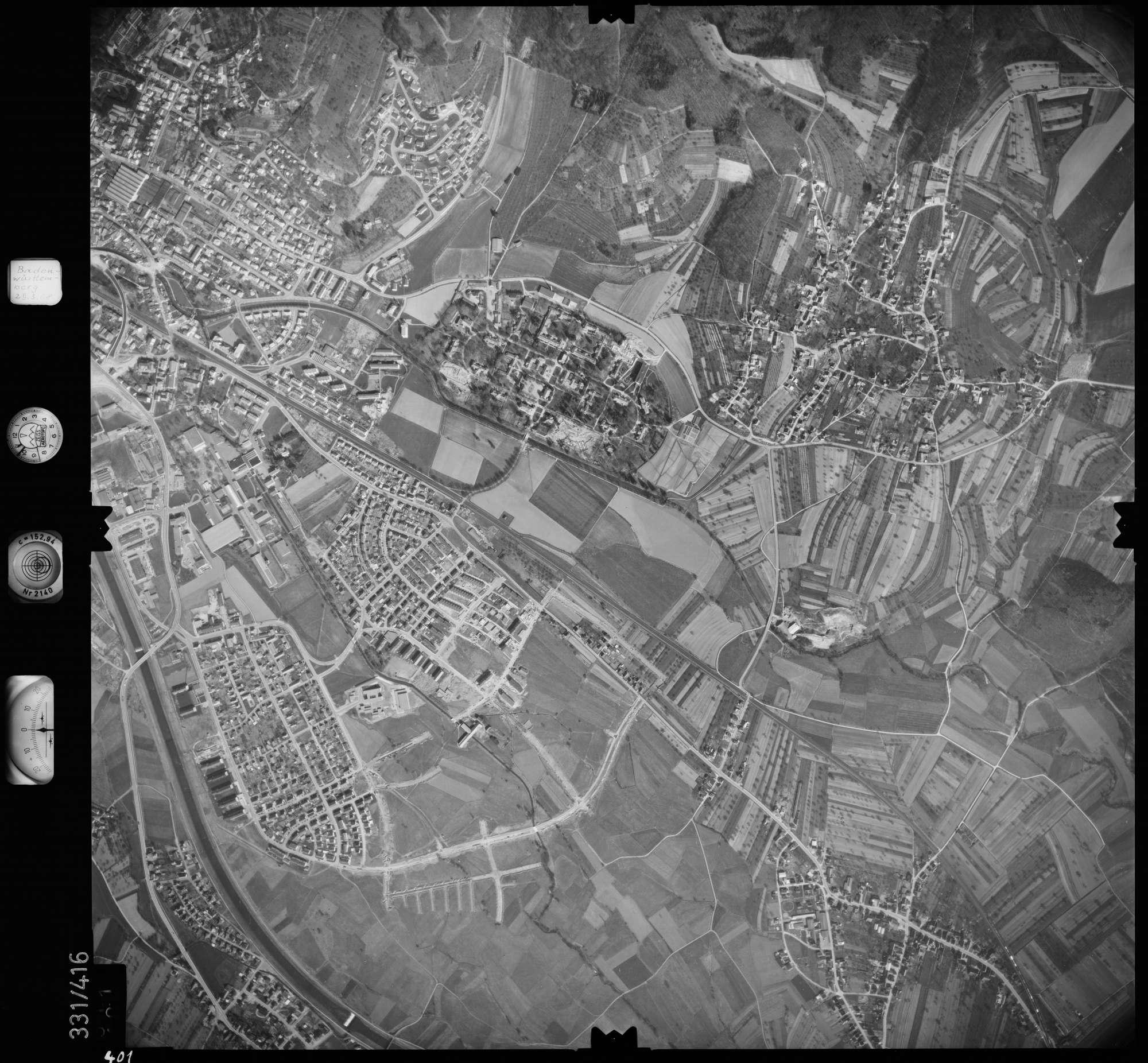 Luftbild: Film 47 Bildnr. 401, Bild 1