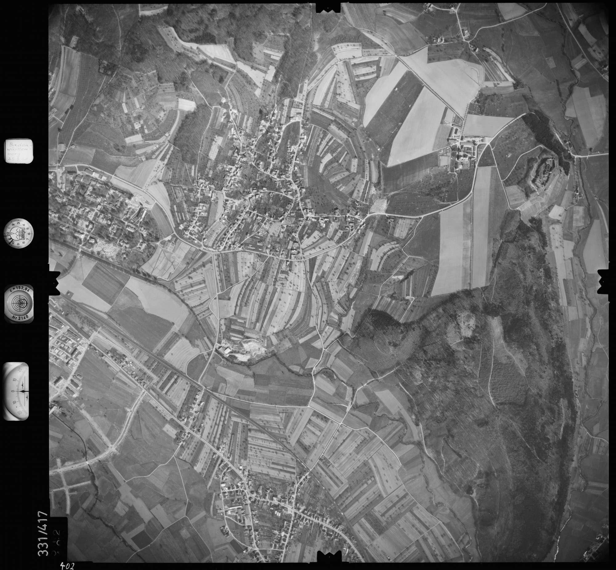 Luftbild: Film 47 Bildnr. 402, Bild 1