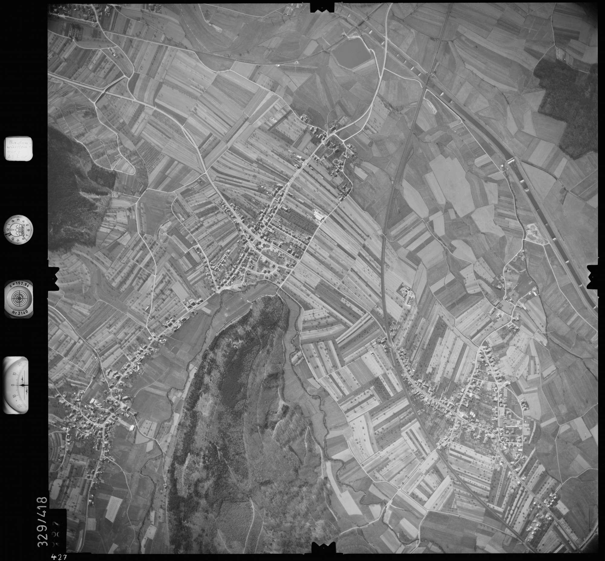 Luftbild: Film 47 Bildnr. 427, Bild 1