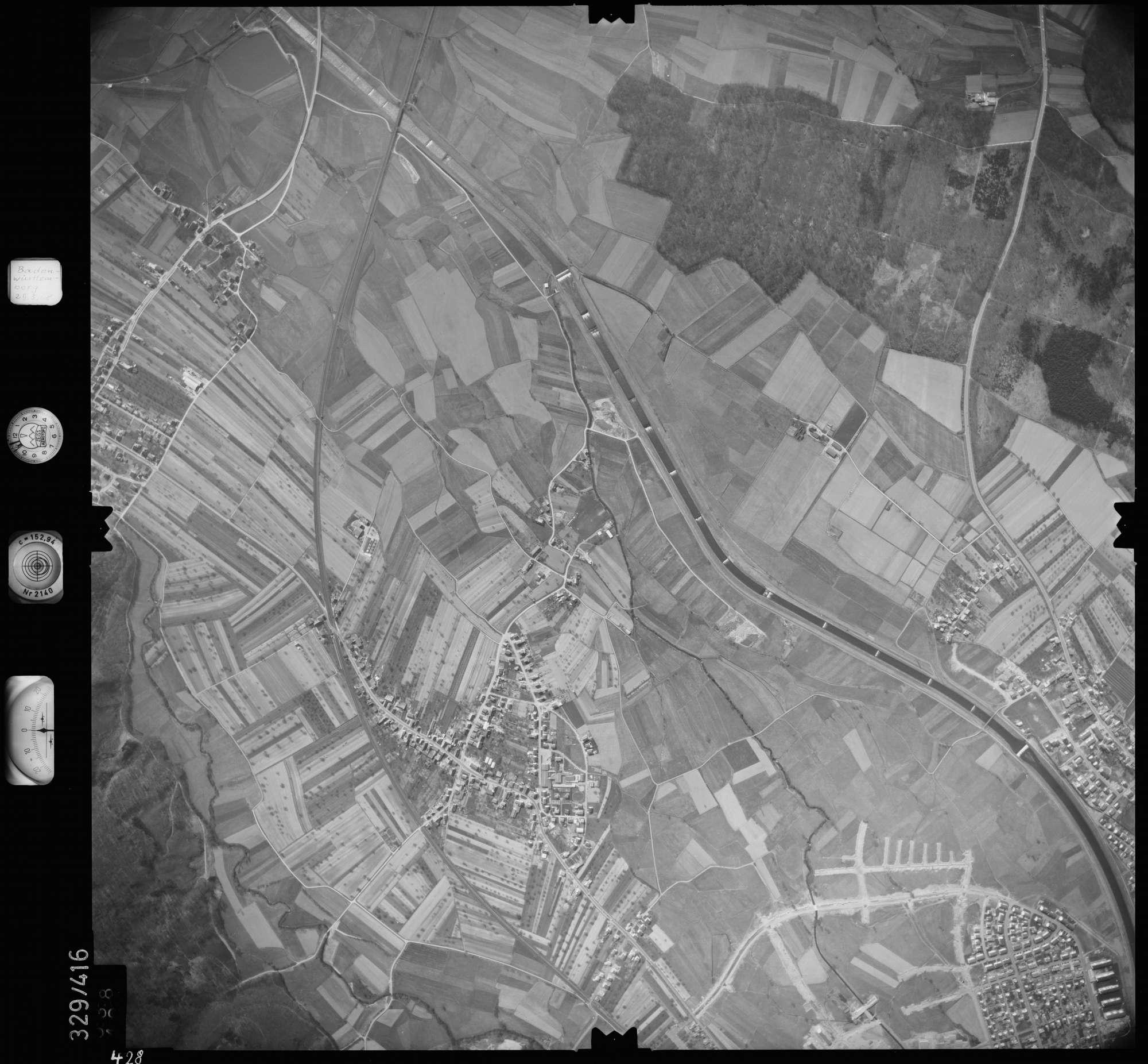 Luftbild: Film 47 Bildnr. 428, Bild 1