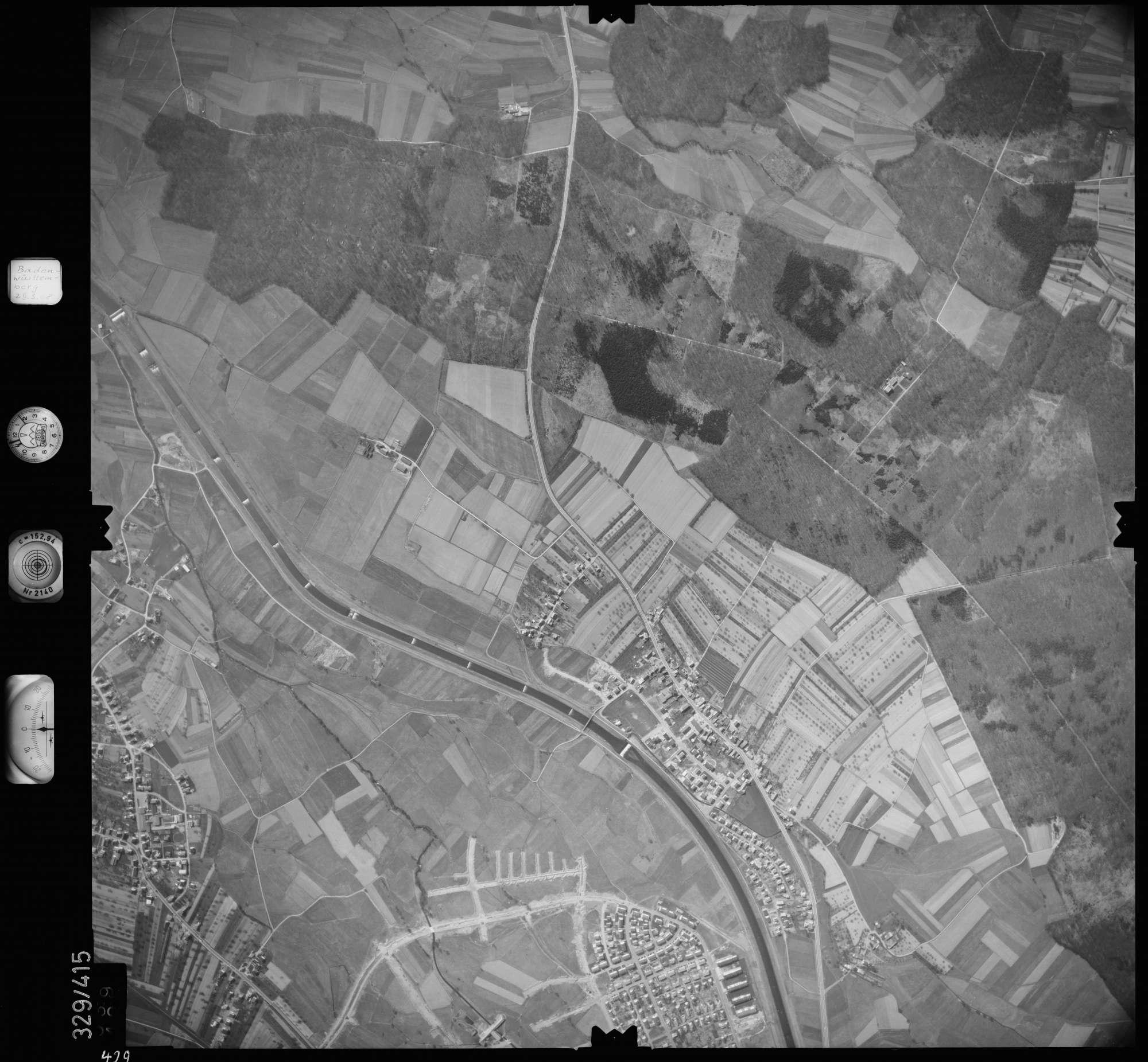 Luftbild: Film 47 Bildnr. 429, Bild 1