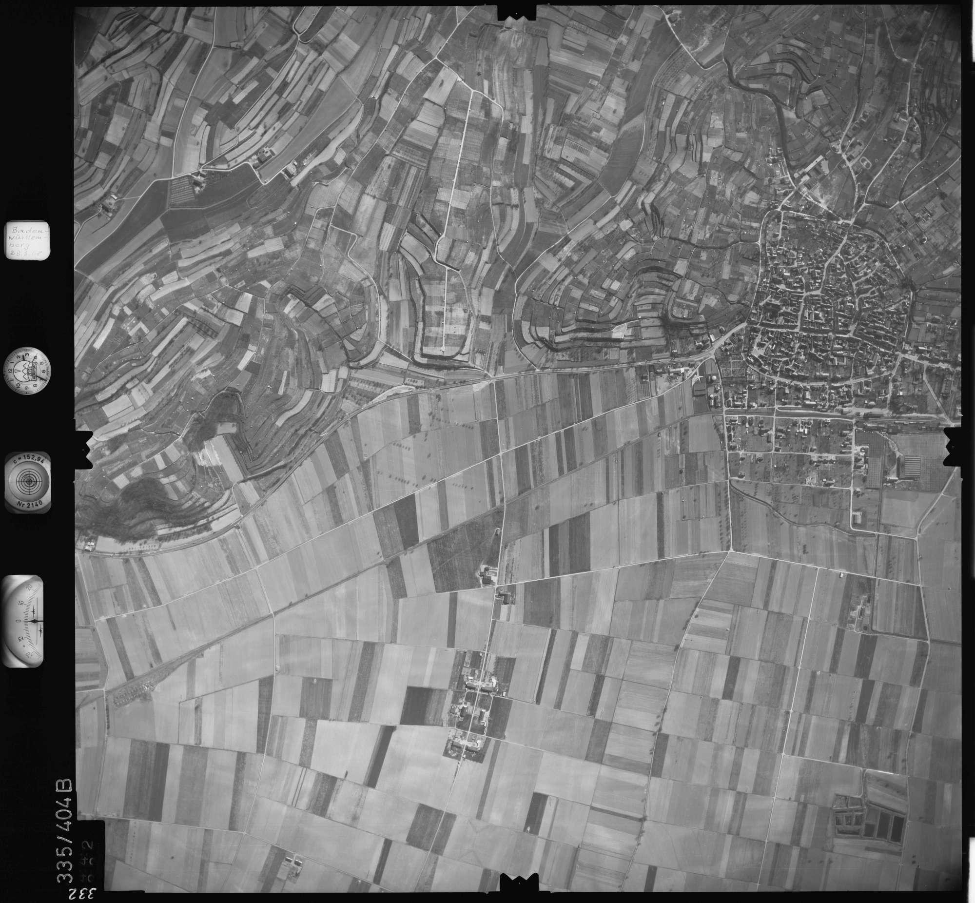Luftbild: Film 36 Bildnr. 332, Bild 1