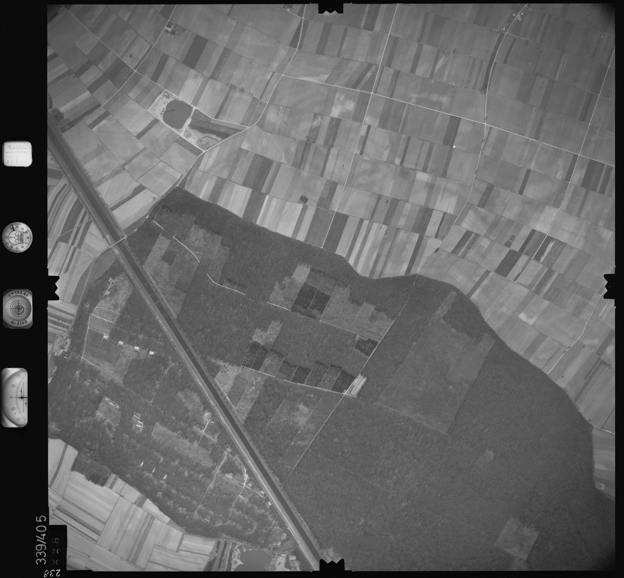 Luftbild: Film 36 Bildnr. 238, Bild 1