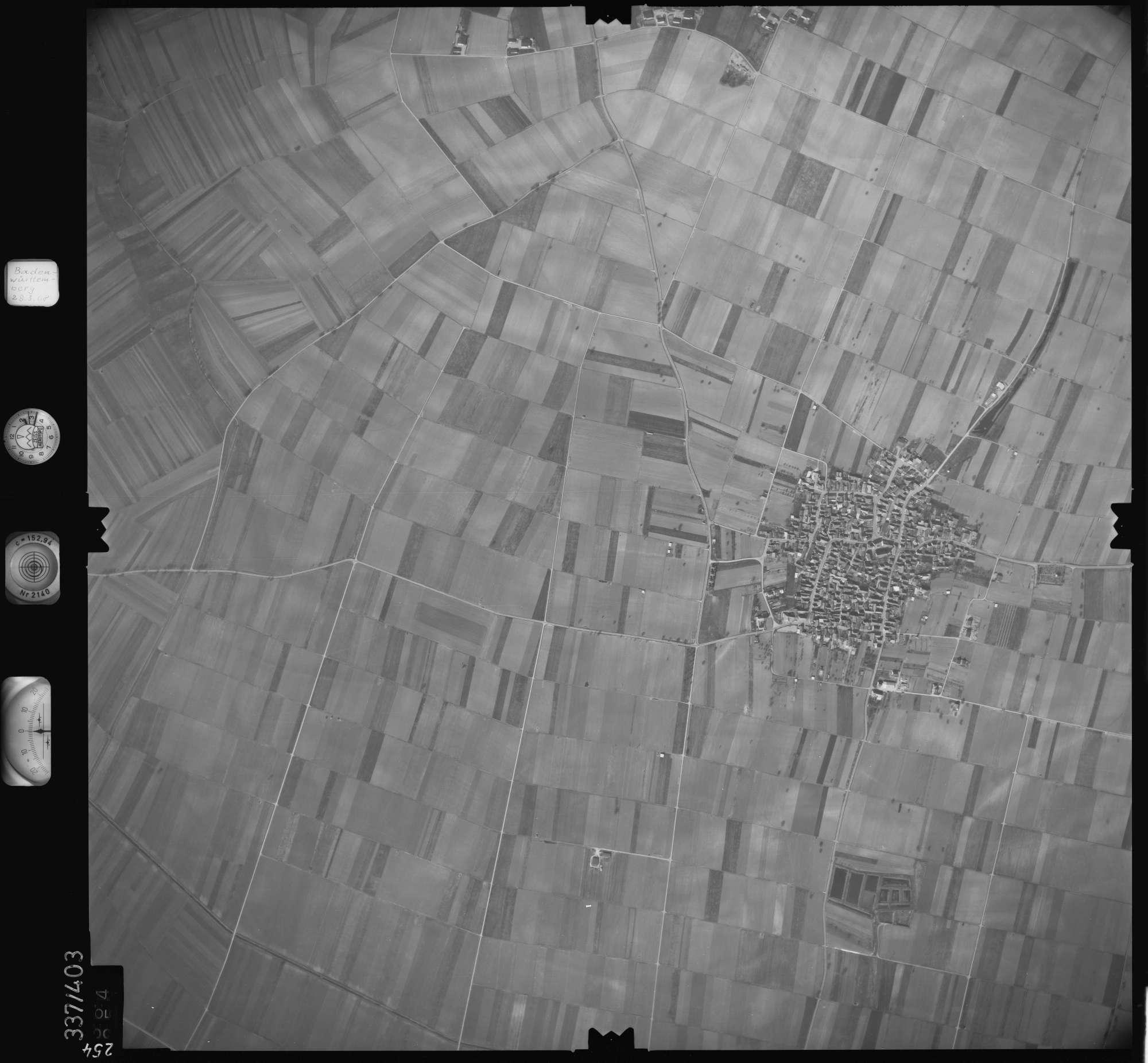 Luftbild: Film 36 Bildnr. 254, Bild 1