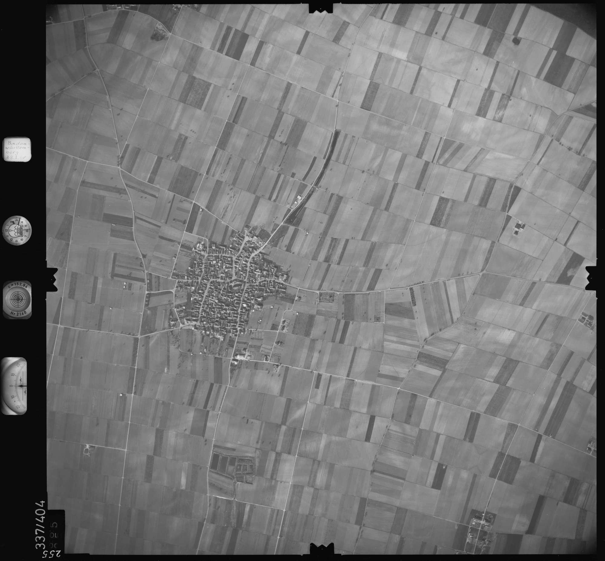 Luftbild: Film 36 Bildnr. 255, Bild 1