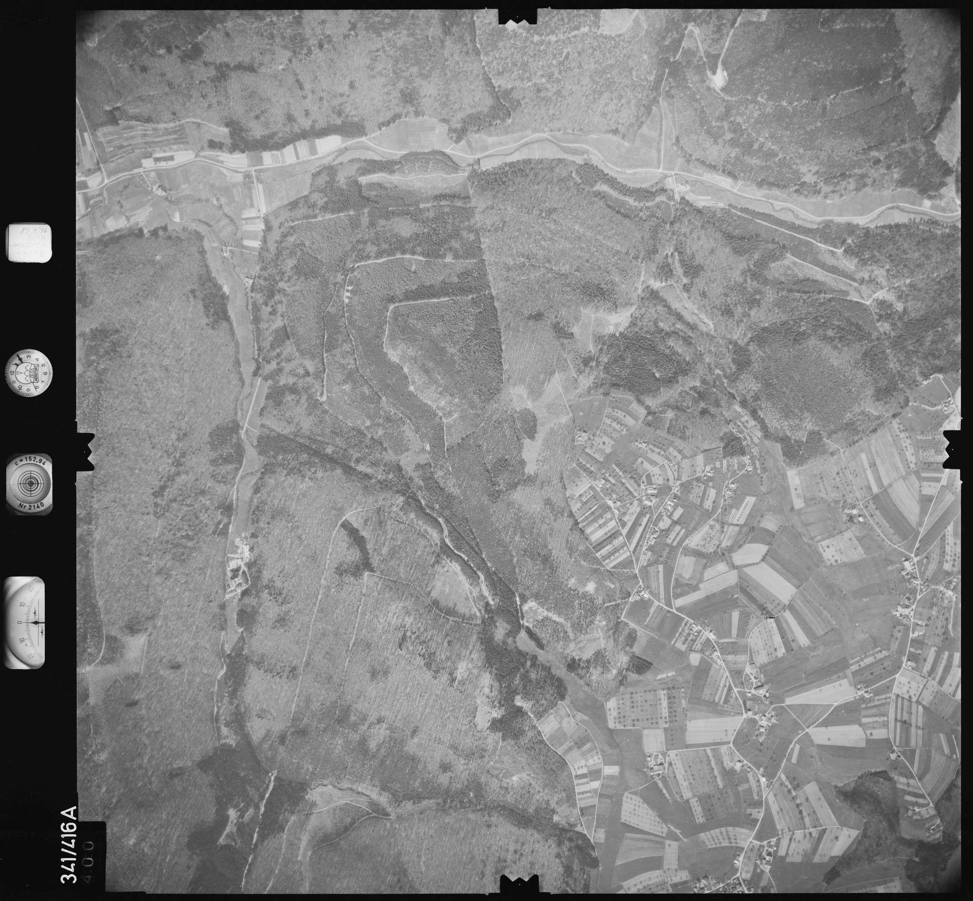 Luftbild: Film 89 Bildnr. 400, Bild 1