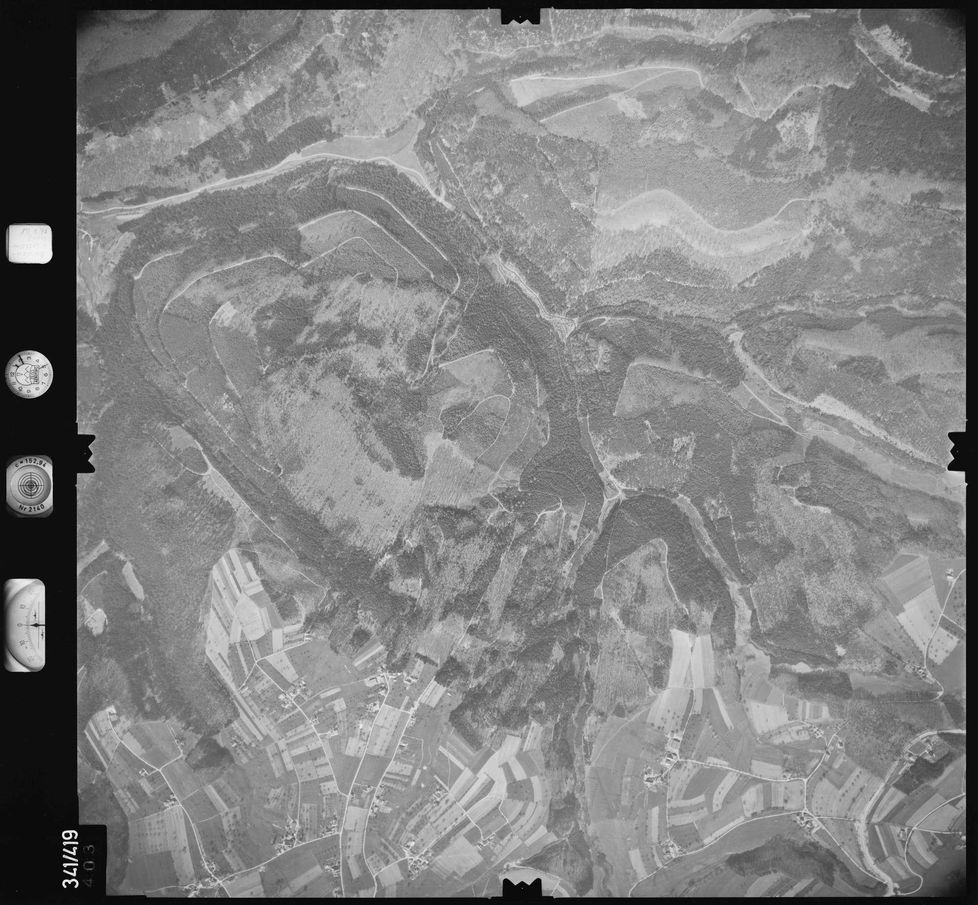 Luftbild: Film 89 Bildnr. 403, Bild 1