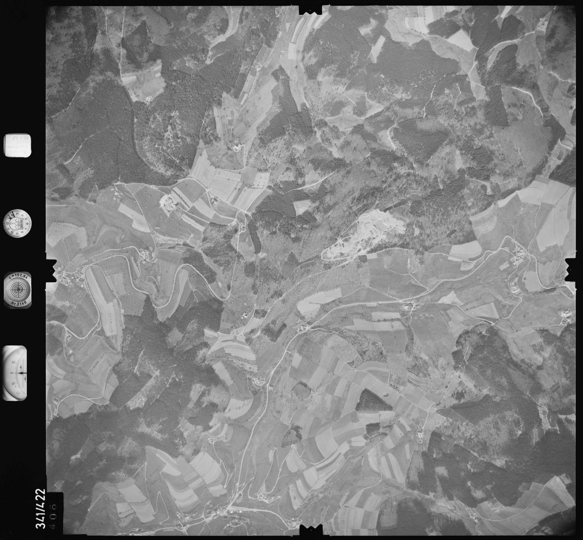 Luftbild: Film 89 Bildnr. 406, Bild 1