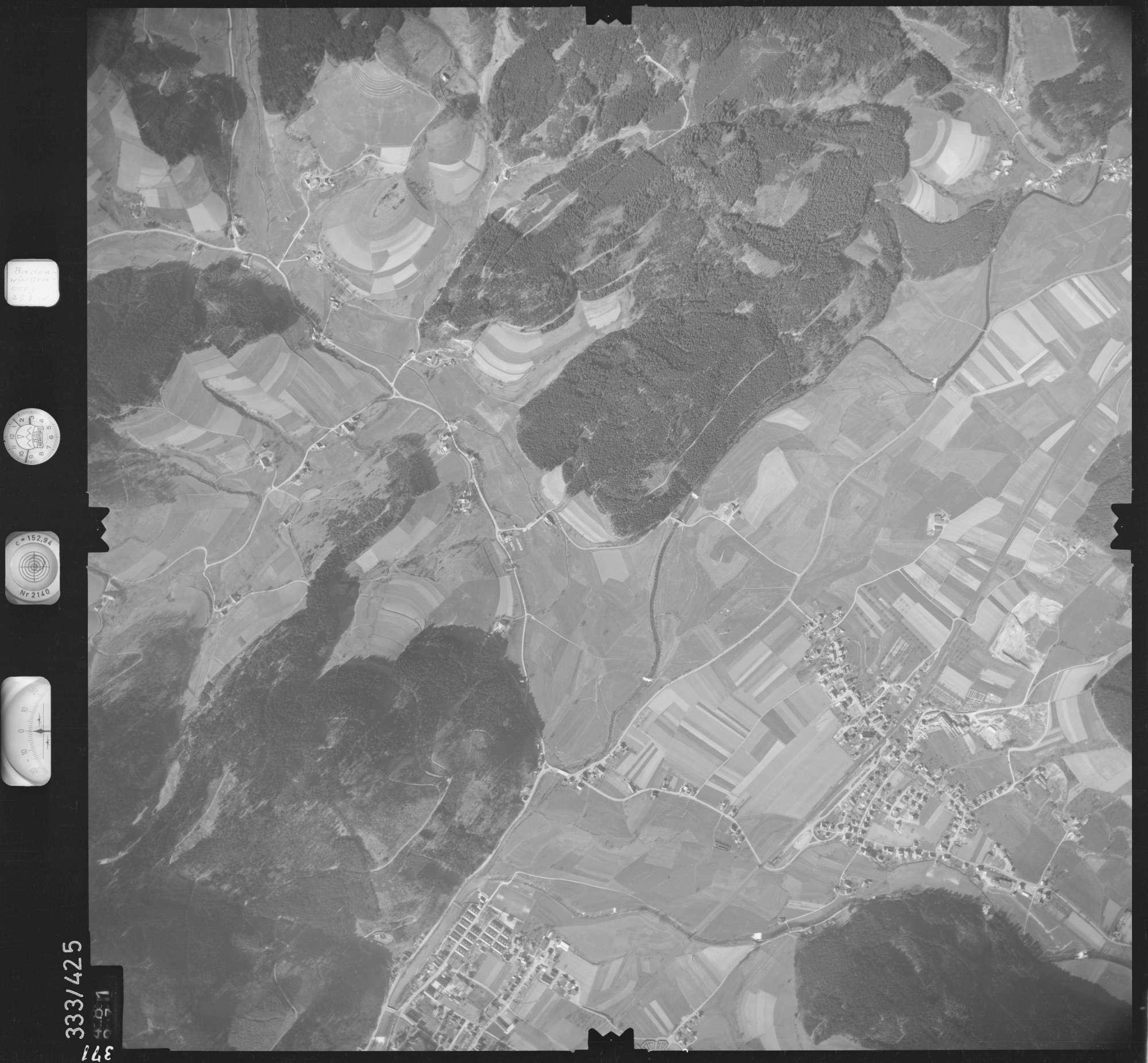 Luftbild: Film 36 Bildnr. 371, Bild 1