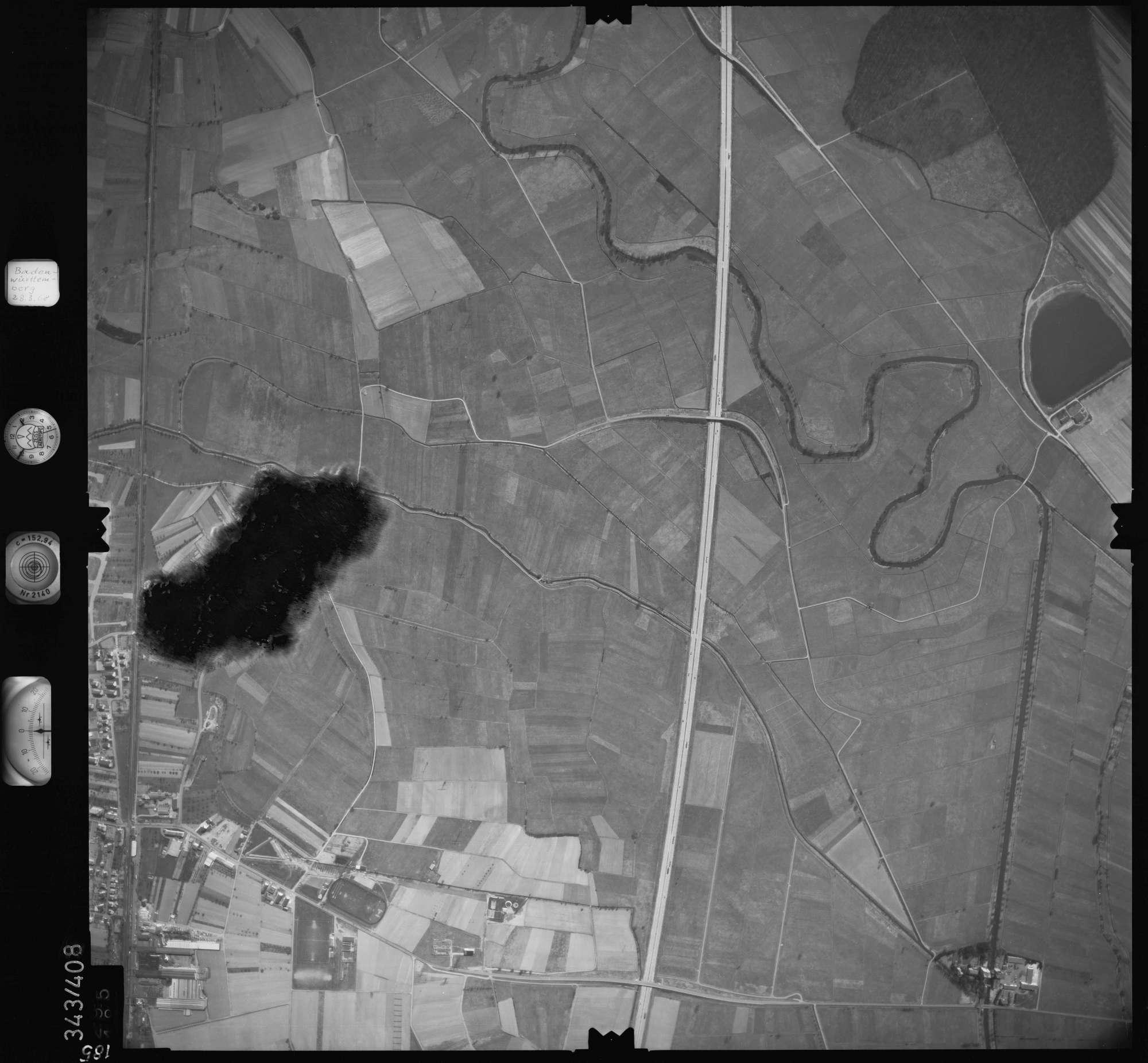 Luftbild: Film 36 Bildnr. 185, Bild 1