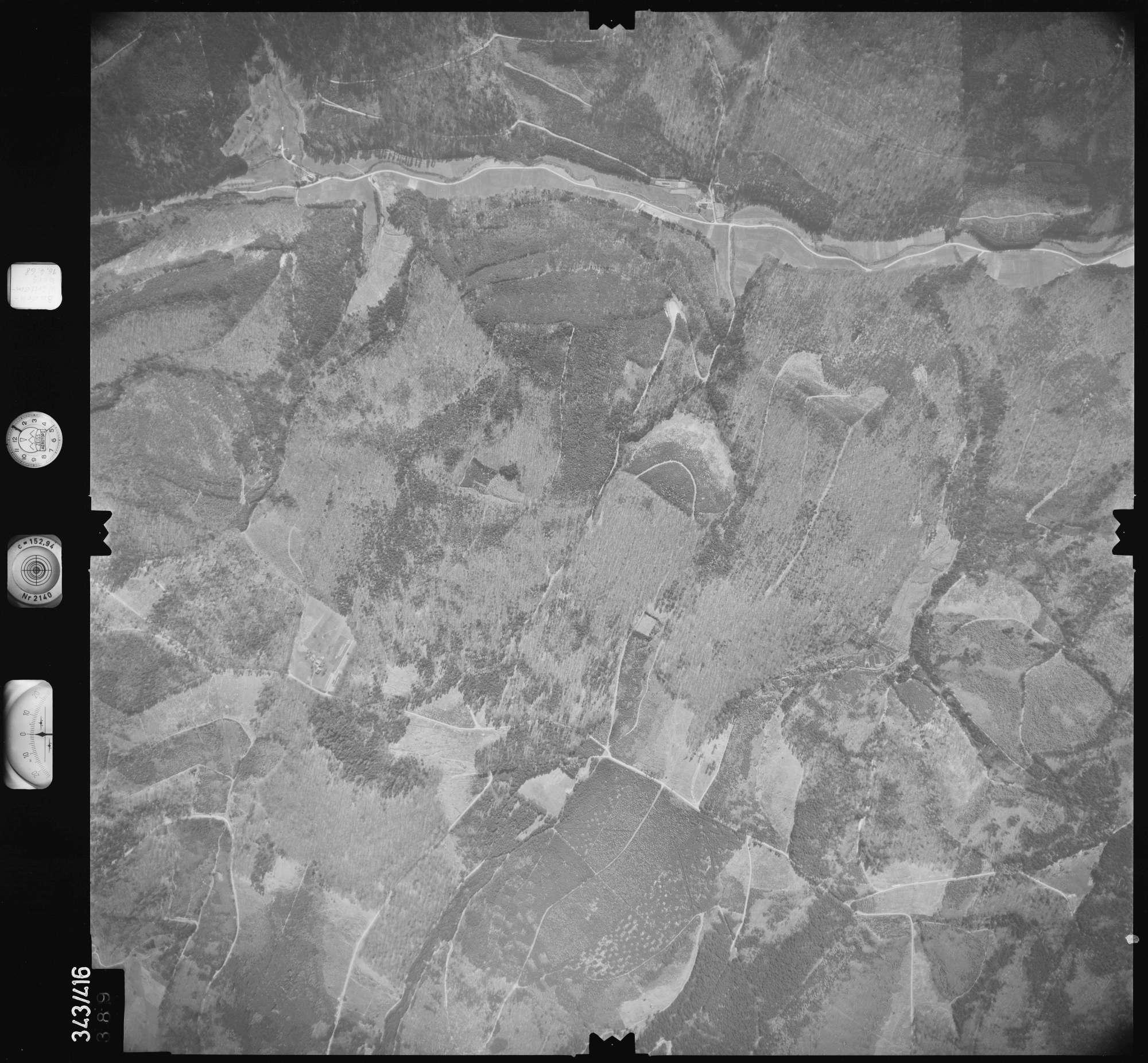 Luftbild: Film 89 Bildnr. 389, Bild 1