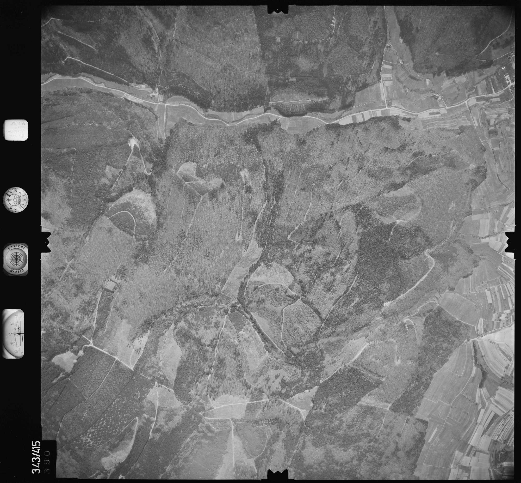 Luftbild: Film 89 Bildnr. 390, Bild 1