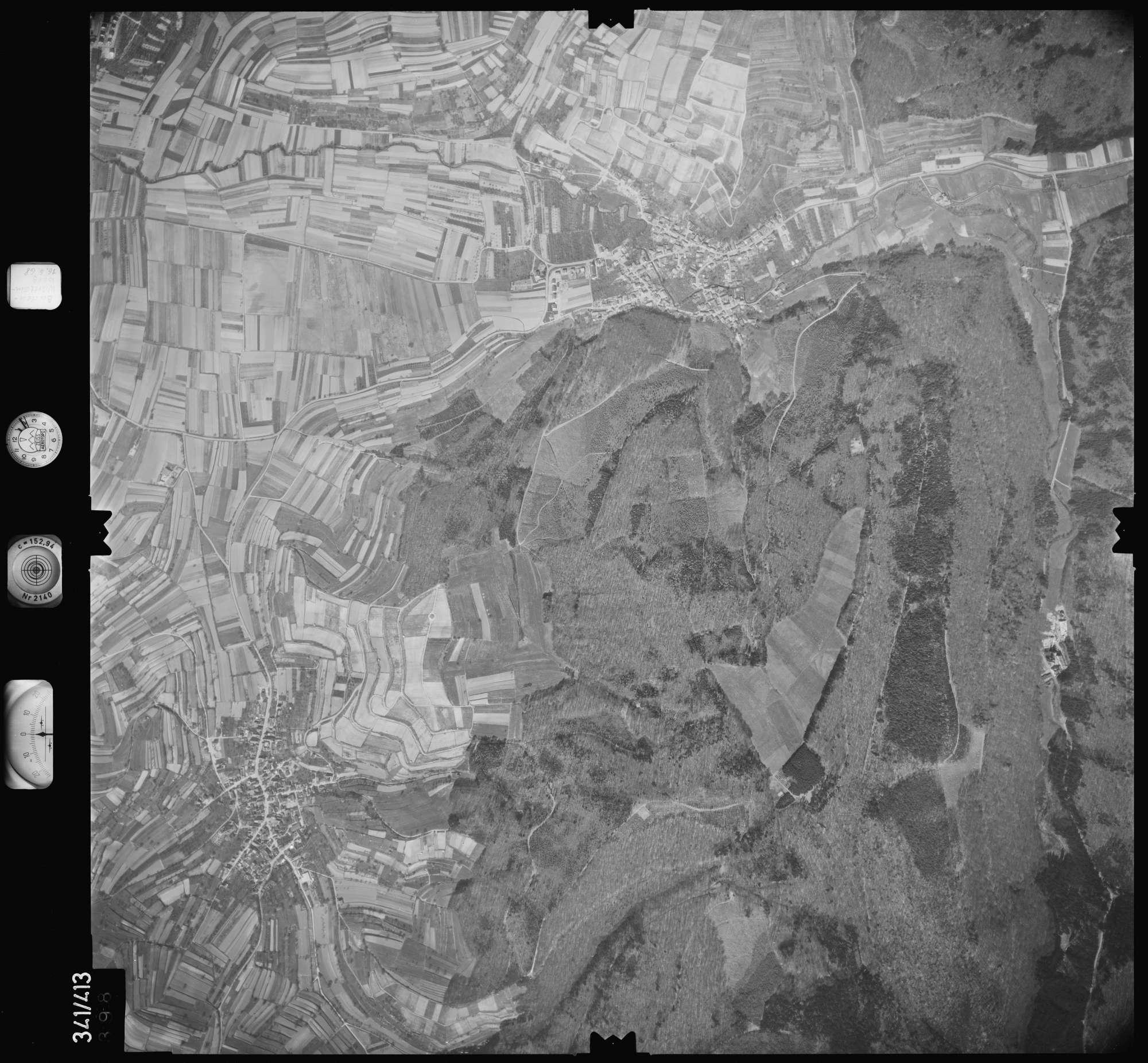 Luftbild: Film 89 Bildnr. 398, Bild 1