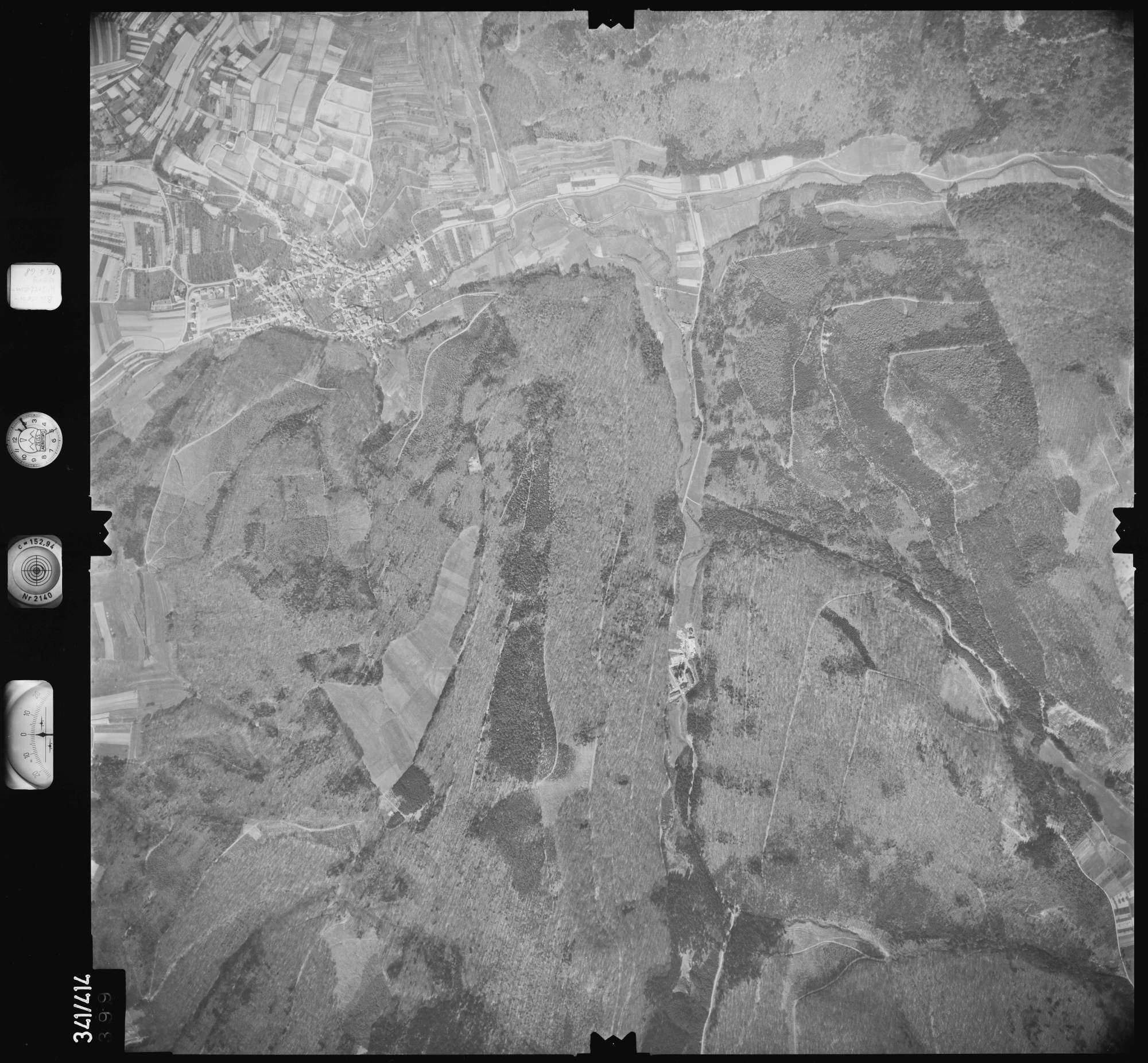 Luftbild: Film 89 Bildnr. 399, Bild 1