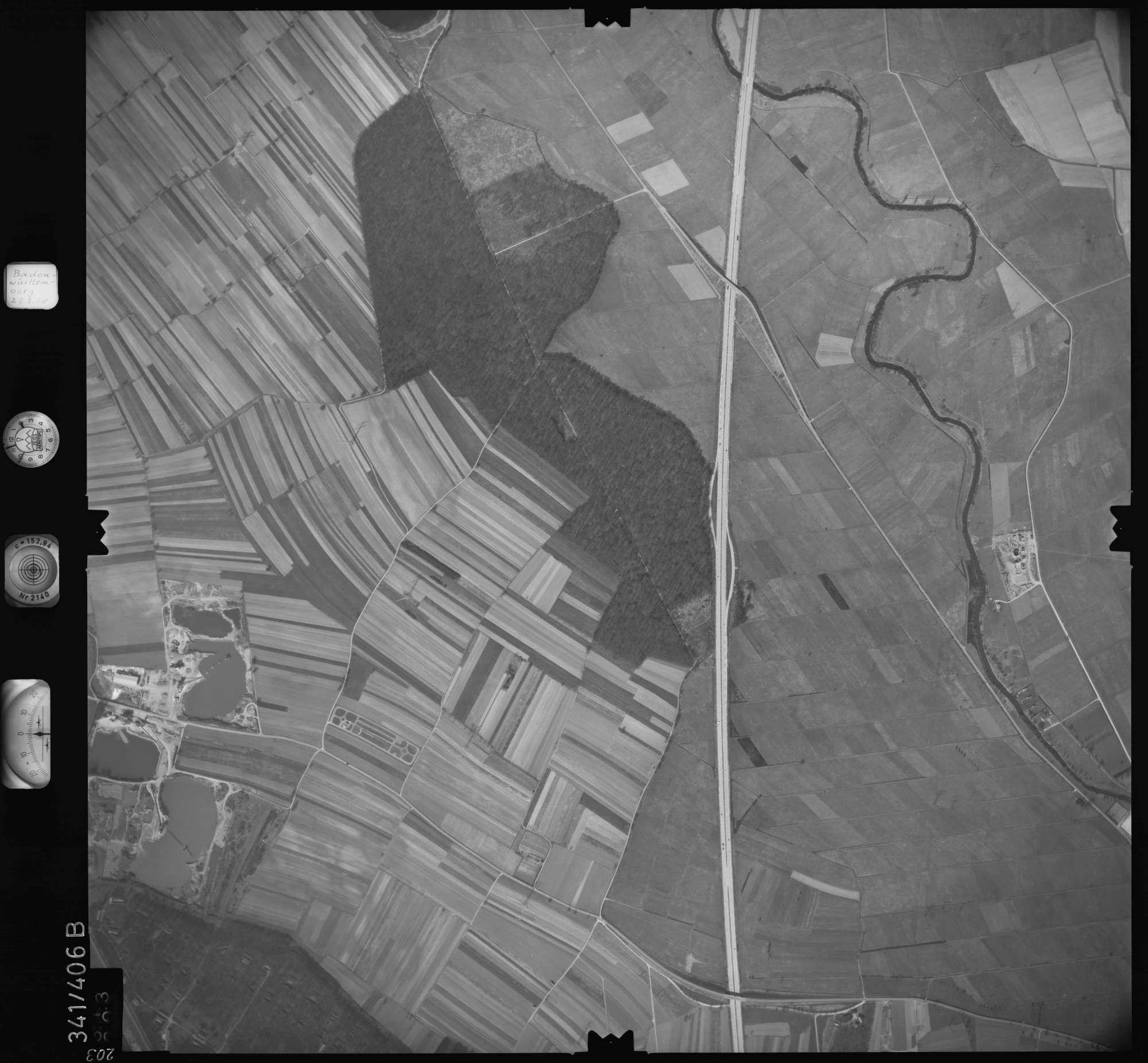 Luftbild: Film 36 Bildnr. 203, Bild 1