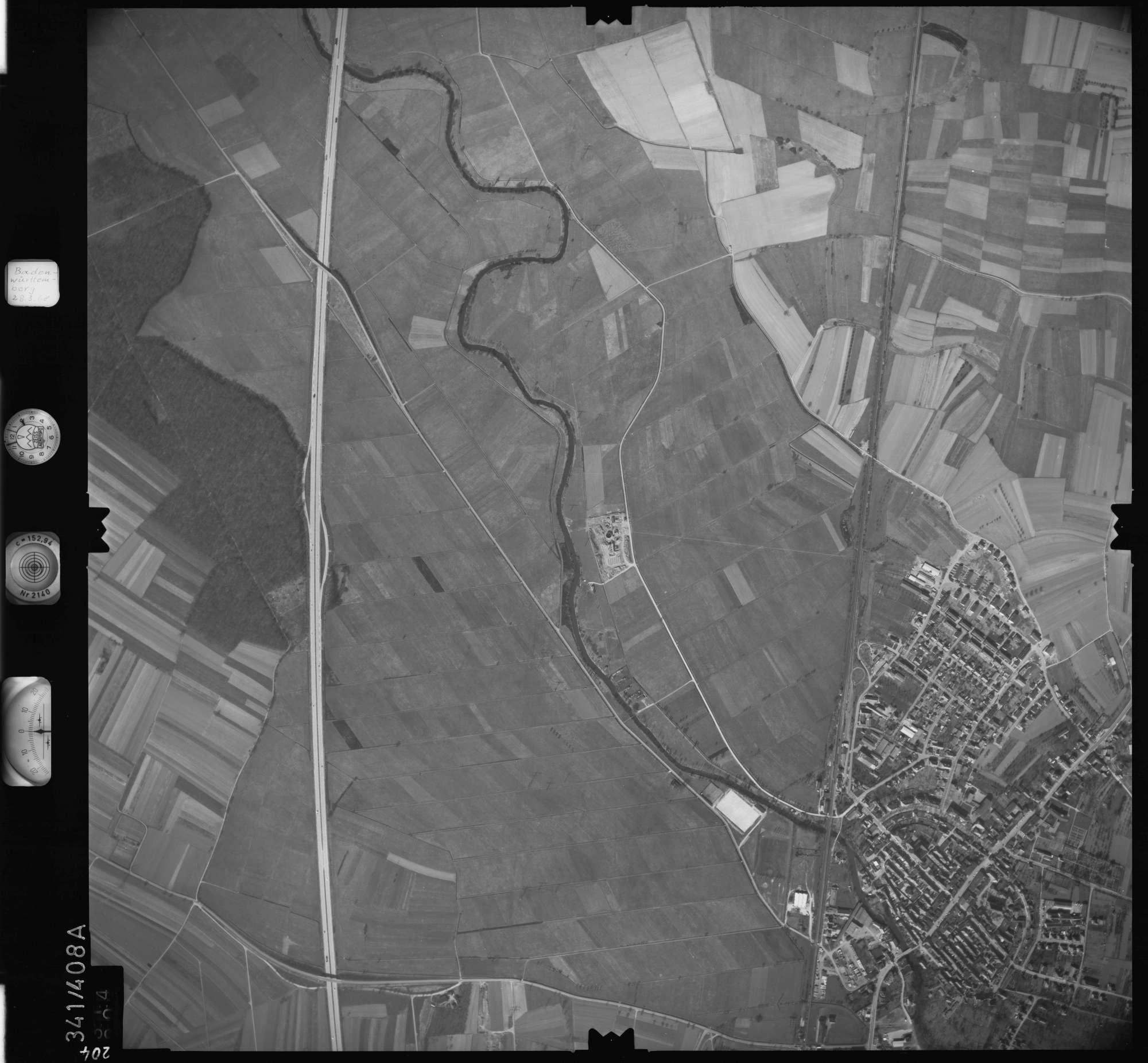 Luftbild: Film 36 Bildnr. 204, Bild 1