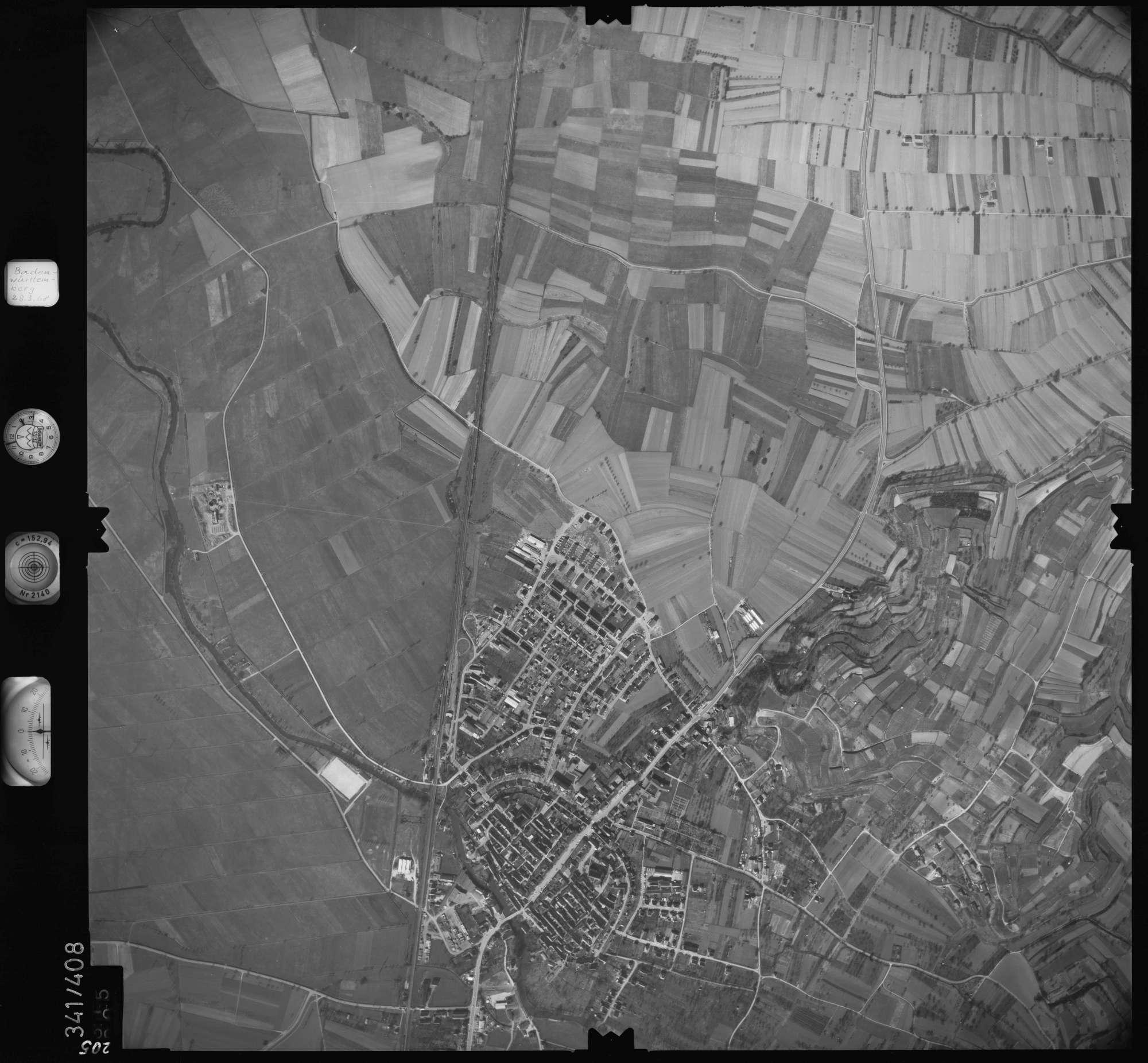 Luftbild: Film 36 Bildnr. 205, Bild 1